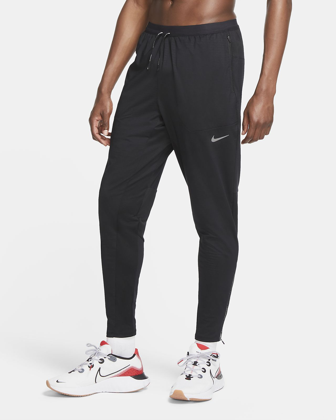 Pánské pleteninové běžecké kalhoty Nike Phenom Elite
