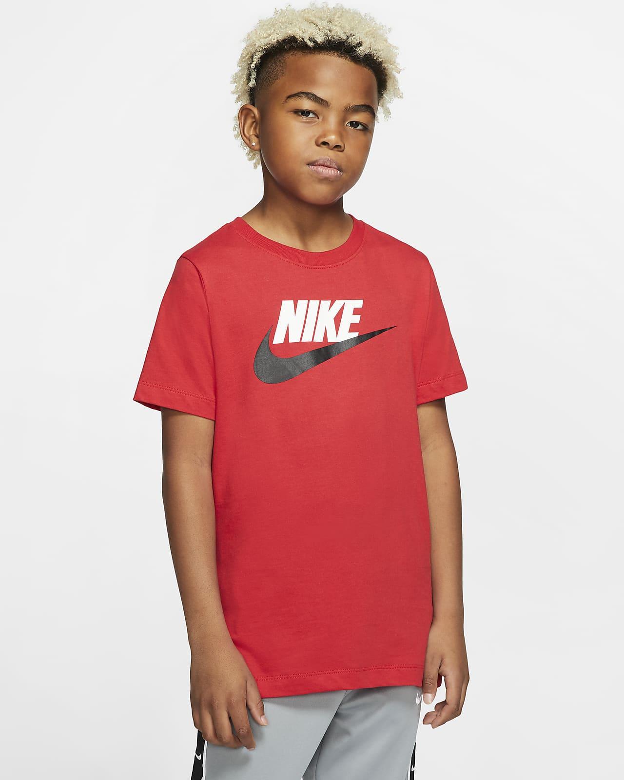 เสื้อยืดคอตตอนเด็กโต Nike Sportswear