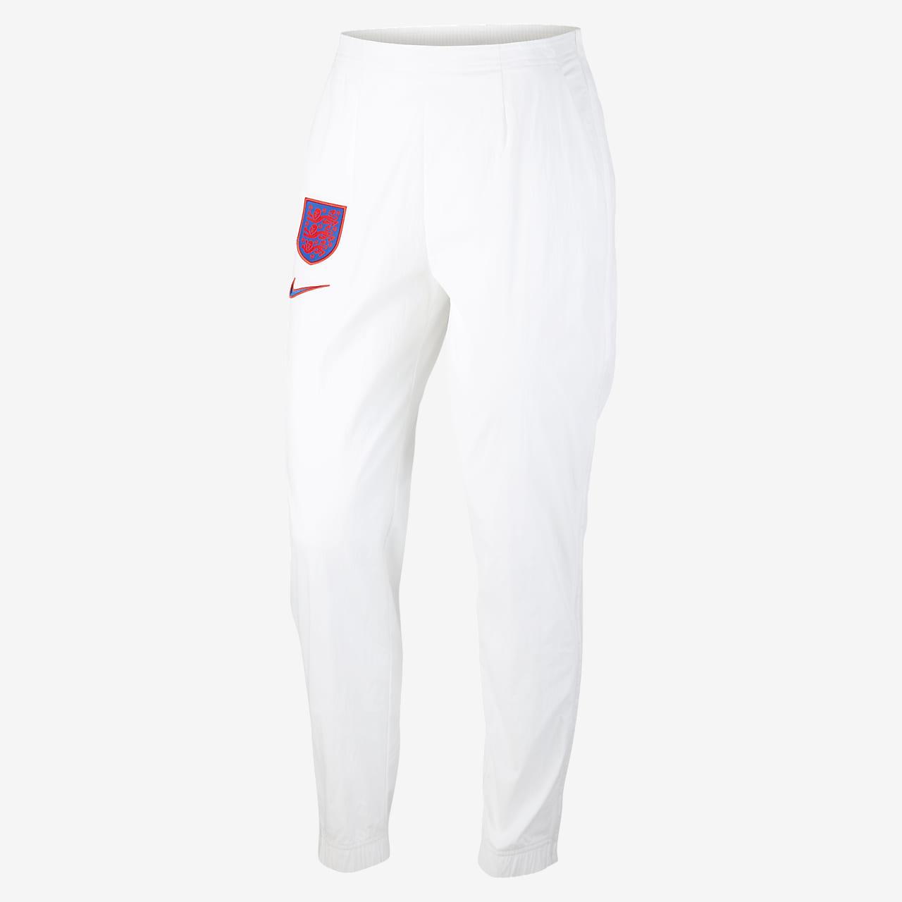 Damskie spodnie piłkarskie z tkaniny Anglia