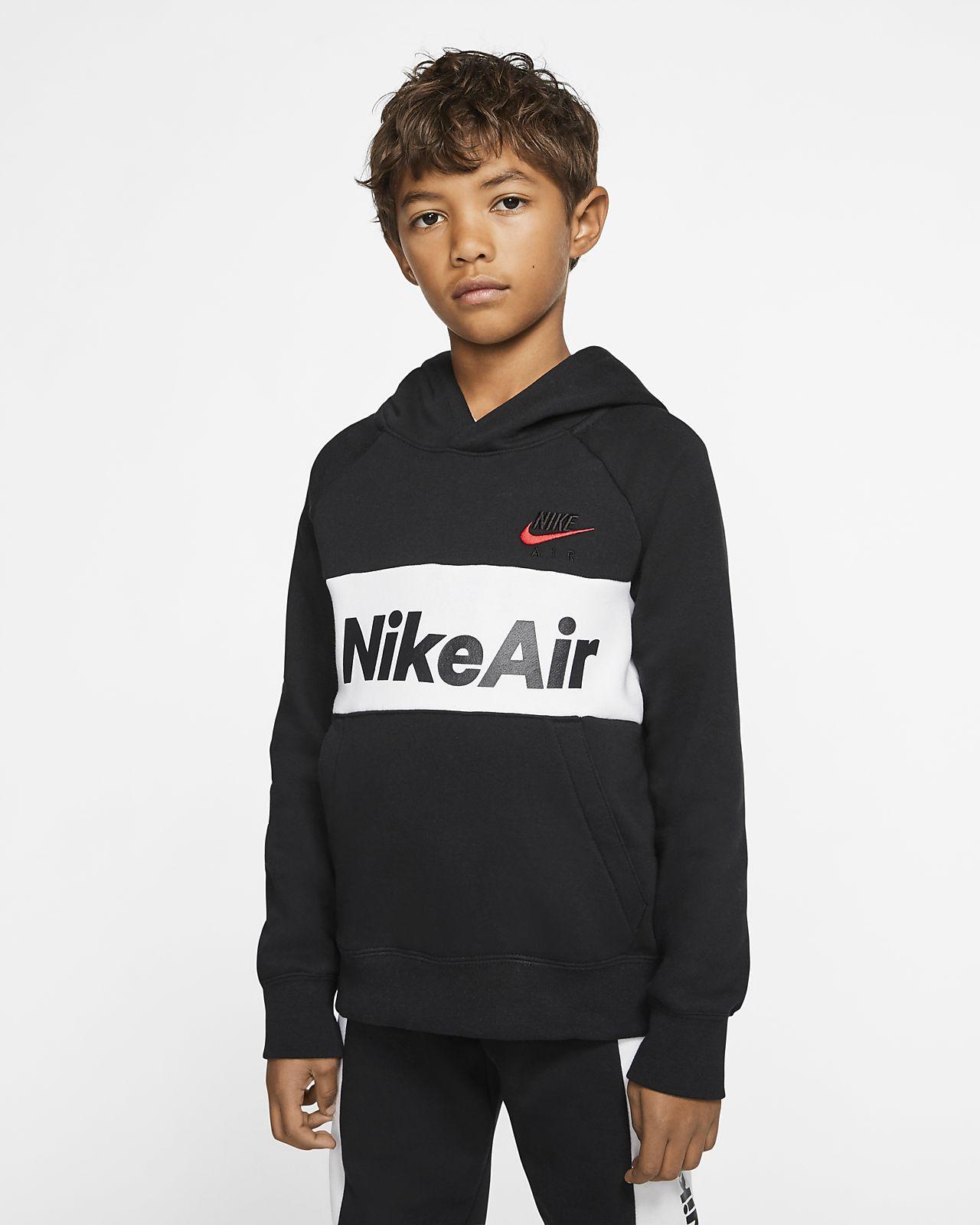 Nike Air Big Kids' (Boys') Pullover Hoodie
