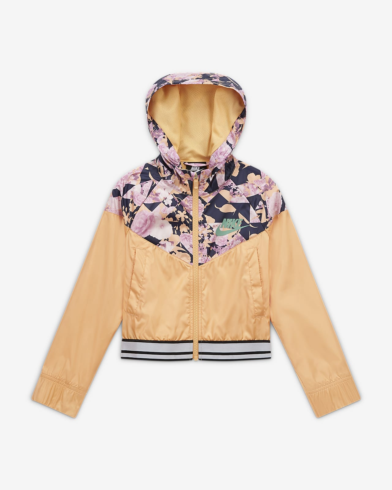 Nike Sportswear Windrunner Big Kids' (Girls') Graphic Jacket