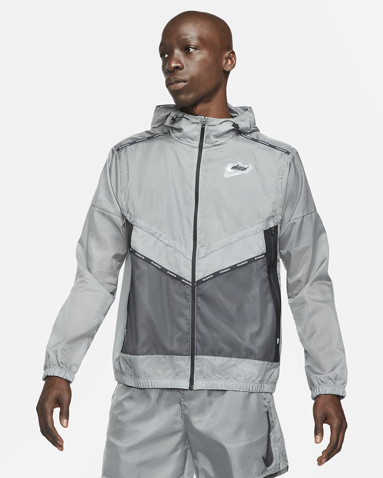 Veste de running à motifs Nike Repel Wild Run Windrunner pour Homme