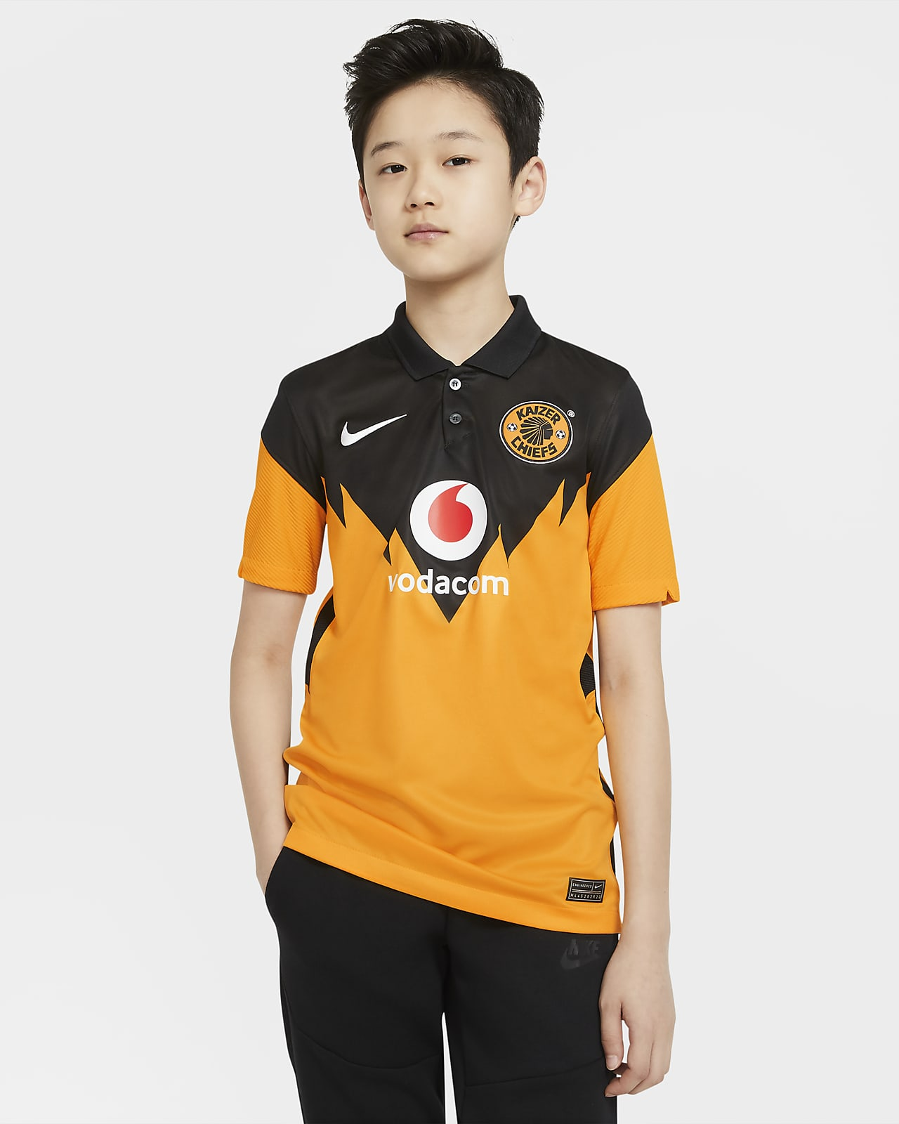 Kaizer Chiefs F.C. 2020/21 Stadium Home Older Kids' Football Shirt