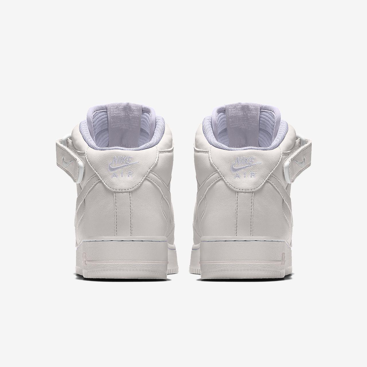 Nike Air Force 1 Mid By You custom sko til mænd