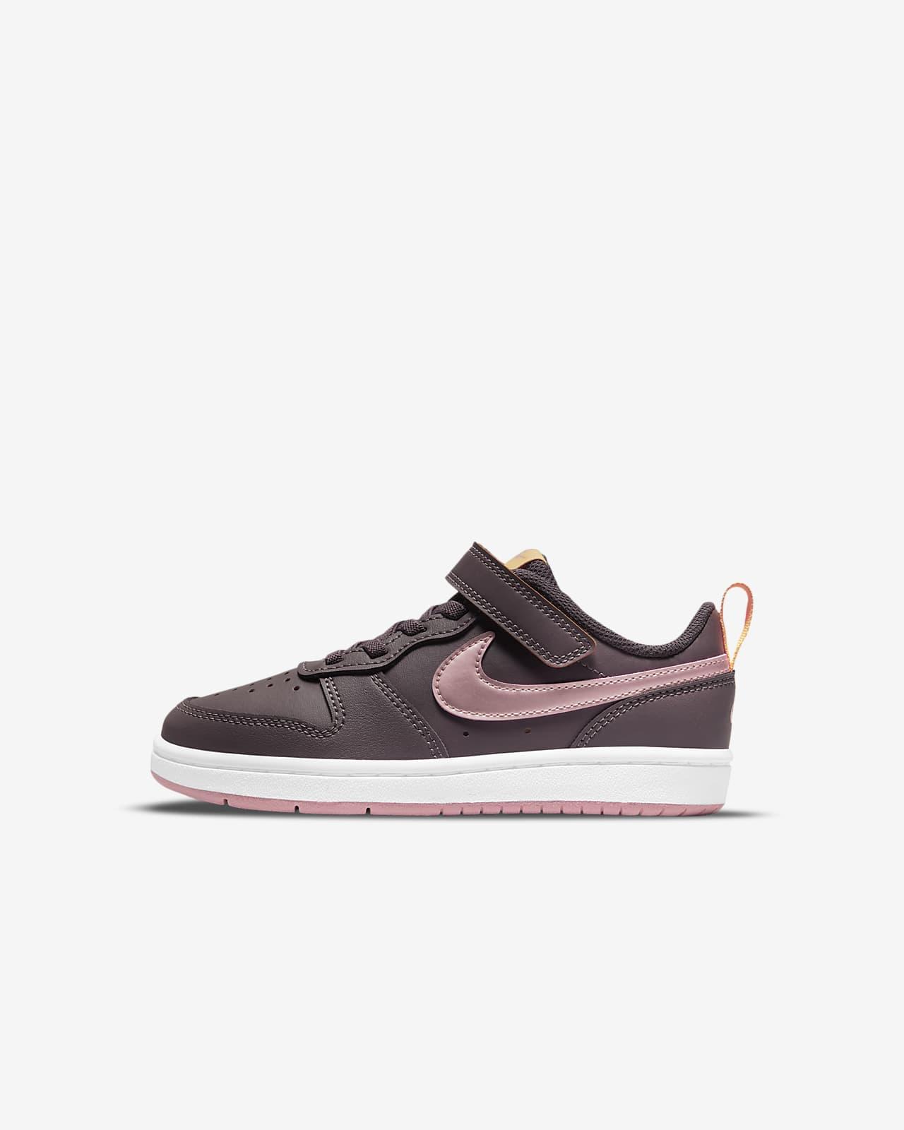 Nike Court Borough Low 2 Little Kids' Shoes