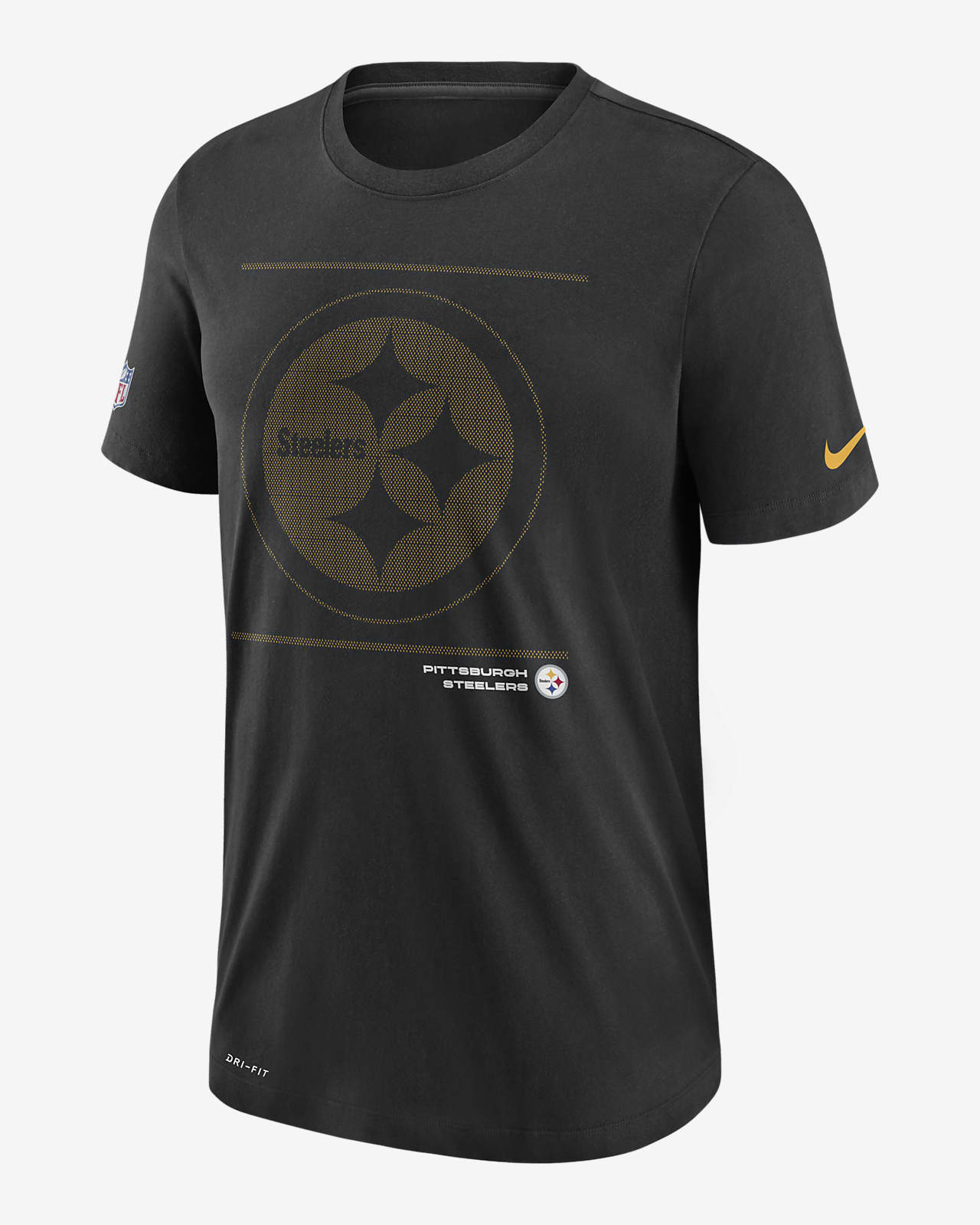 Nike Dri-FIT Sideline Team Issue (NFL Pittsburgh Steelers) Men's T-Shirt