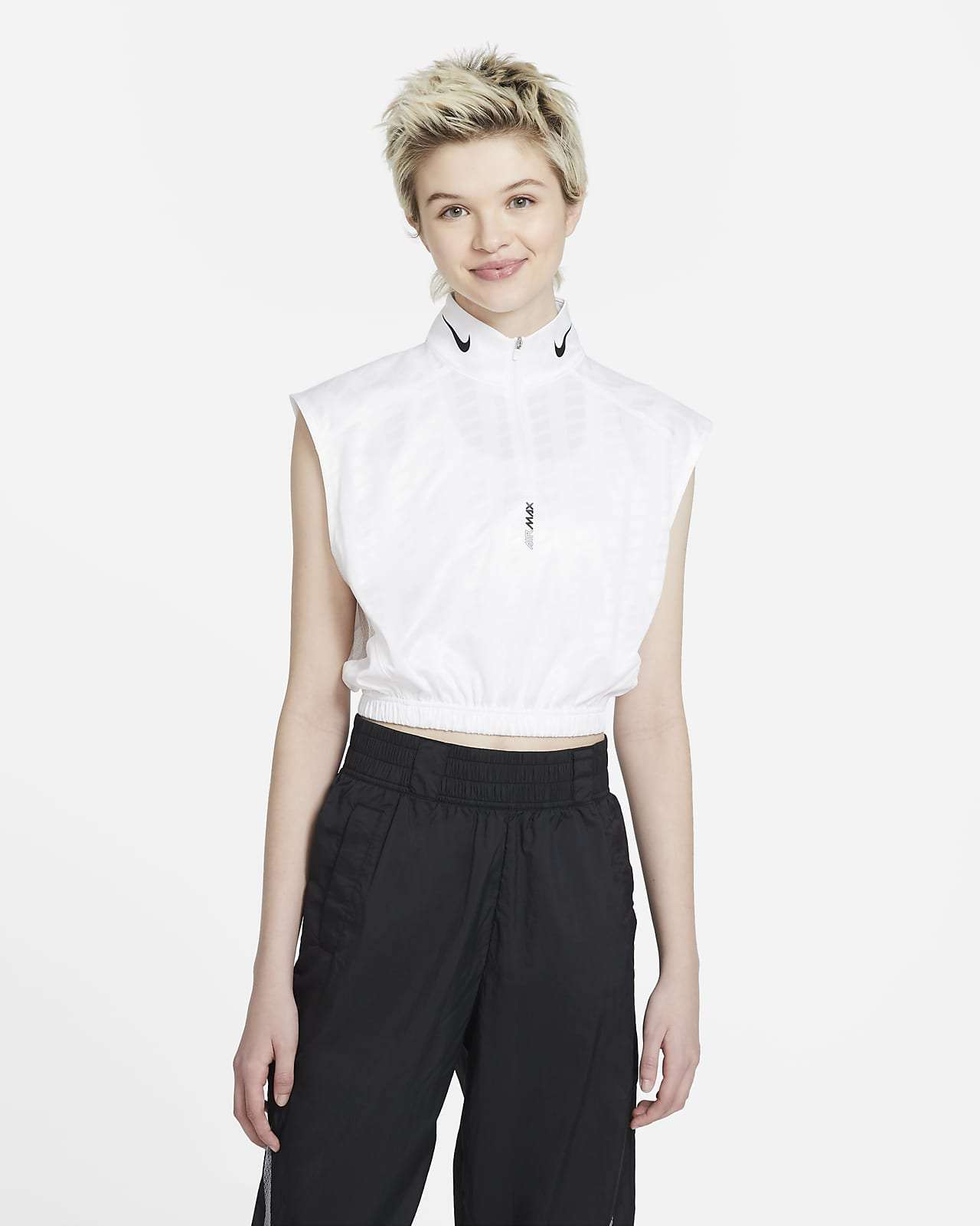 Nike Sportswear Women's 1/2-Zip Sleeveless Top