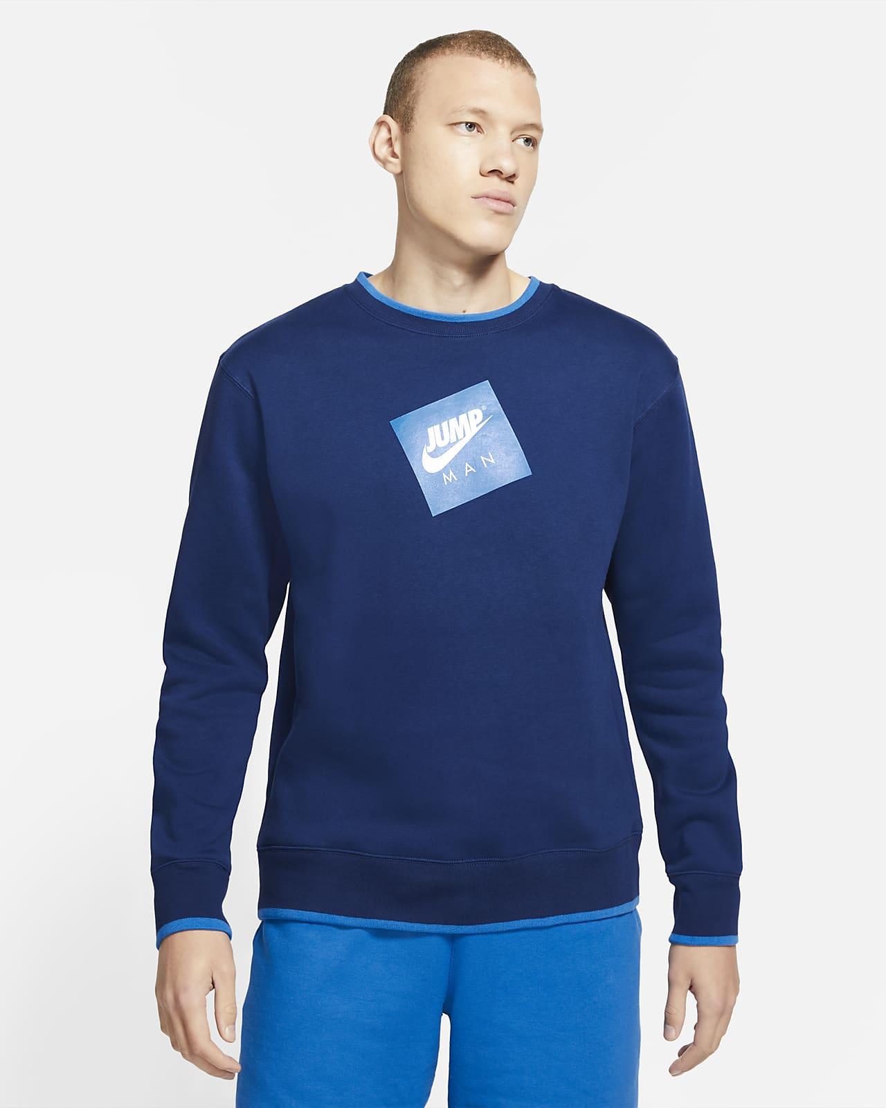 Jordan Jumpman Classics Fleece Erkek Crew Sweatshirt'ü