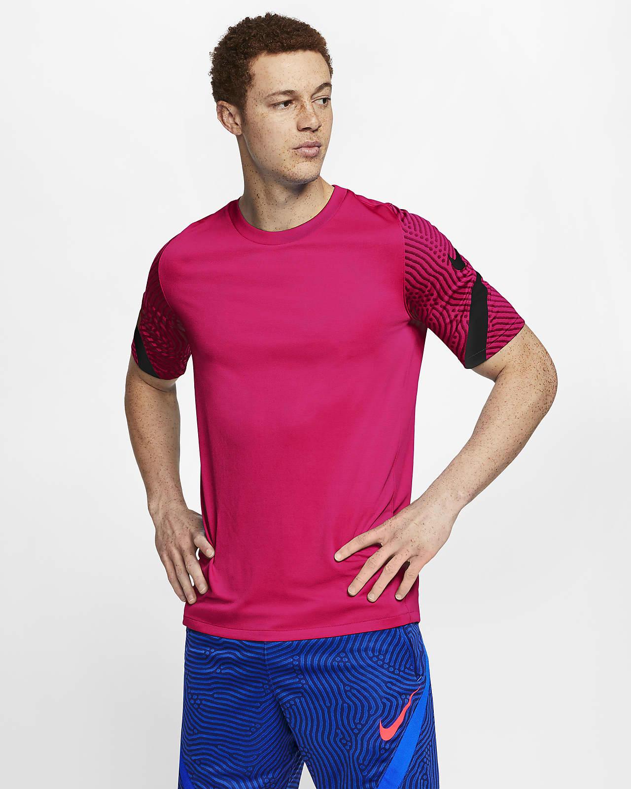 Prenda superior de fútbol de manga corta para hombre Nike Dri-FIT Strike