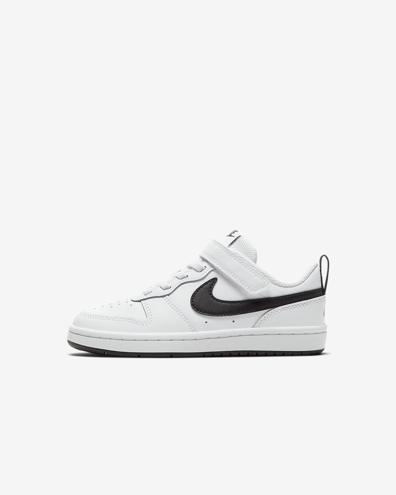 NikeCourt Borough Low 2 sko til små barn