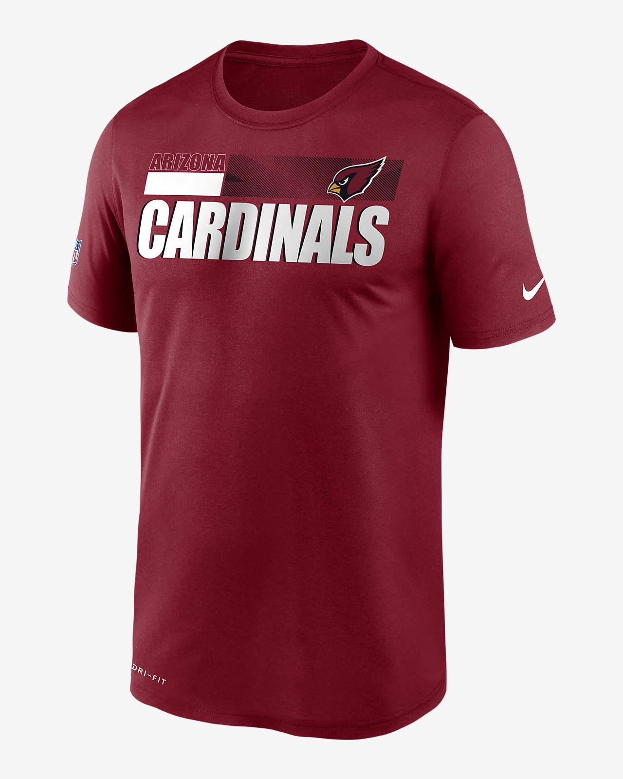 Nike Dri-FIT Team Name Legend Sideline (NFL Arizona Cardinals) Men's T-Shirt