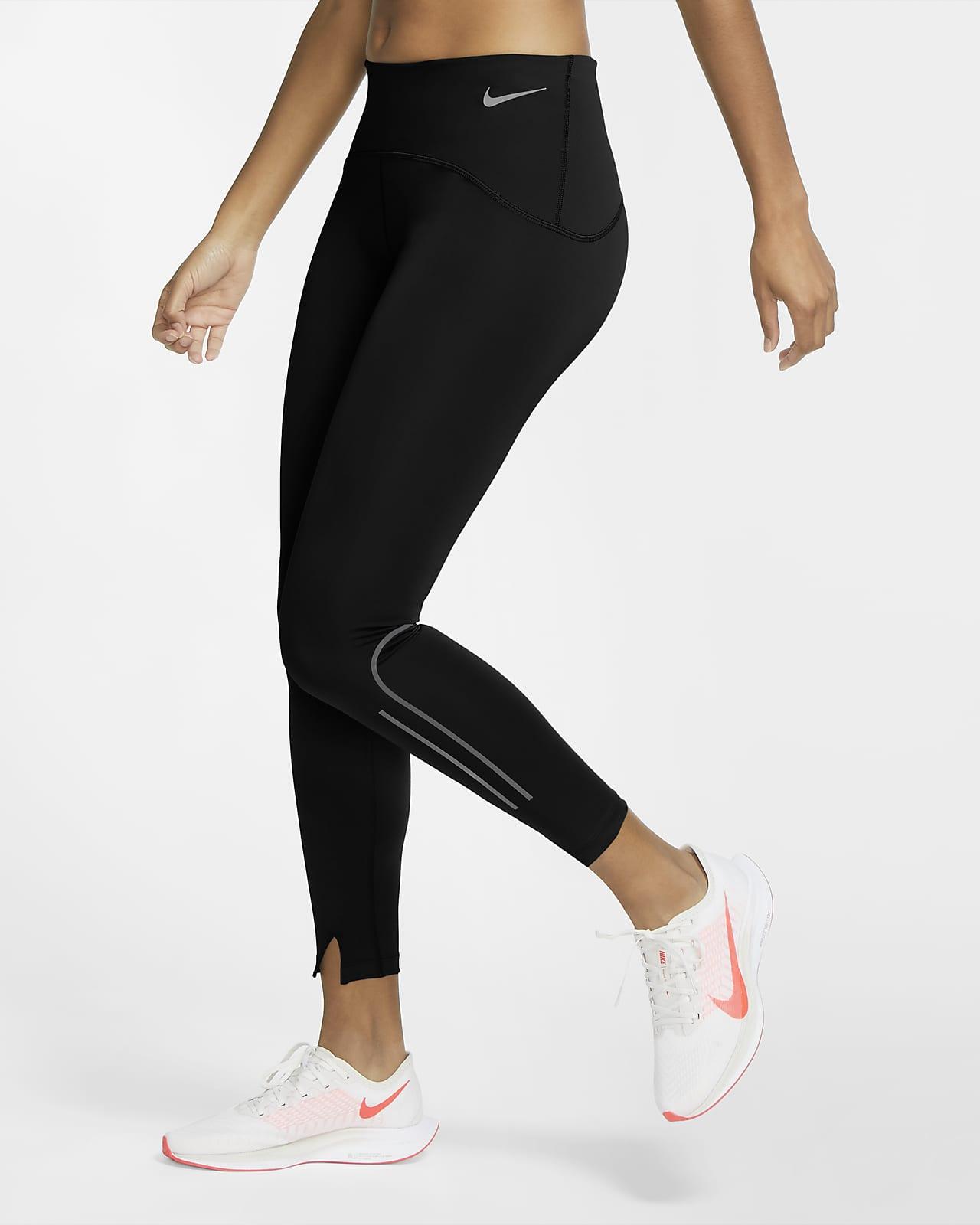 Γυναικείο κολάν προπόνησης με ματ όψη και μήκος 7/8 Nike Speed