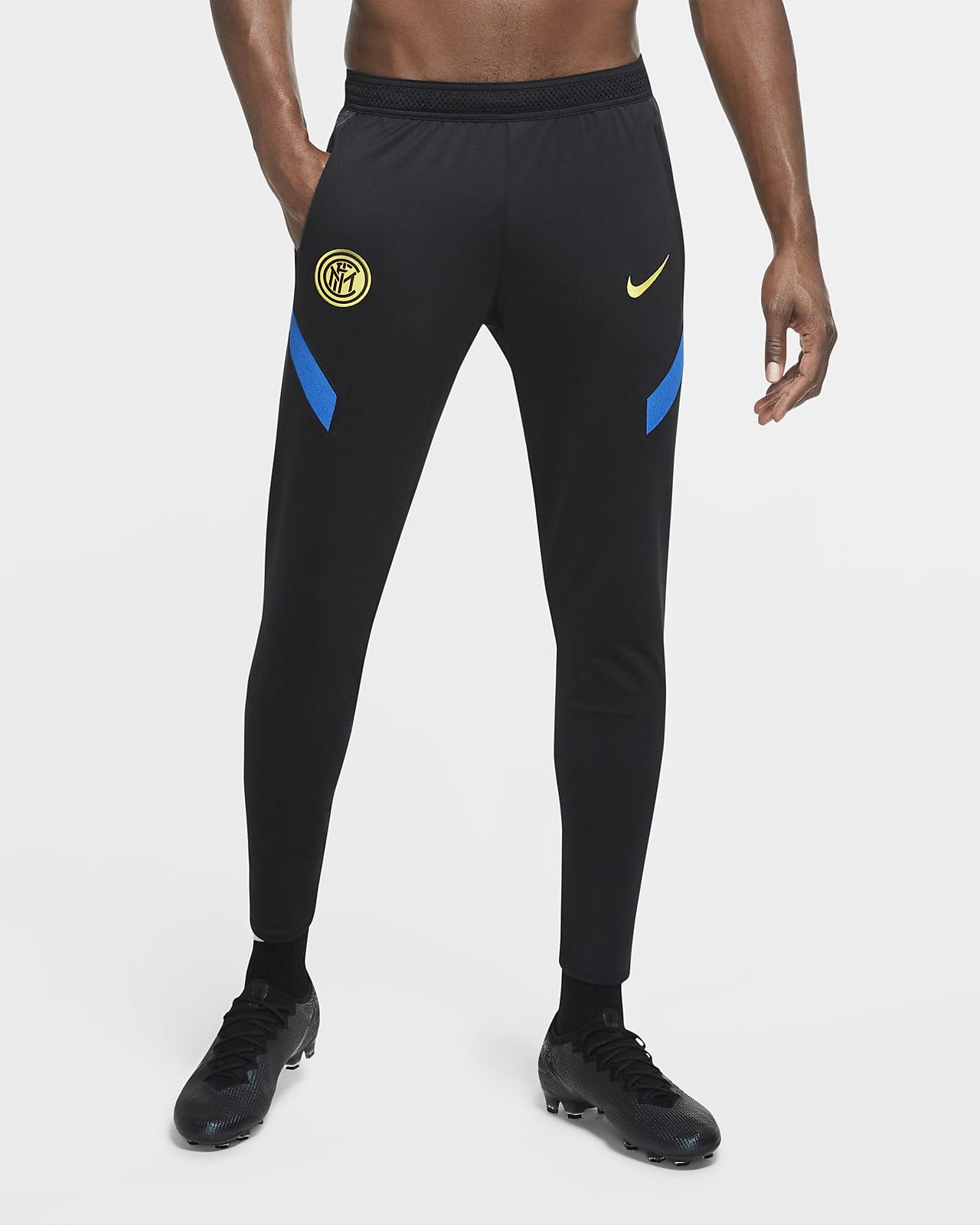 Inter Milan Strike kötött férfi futballnadrág
