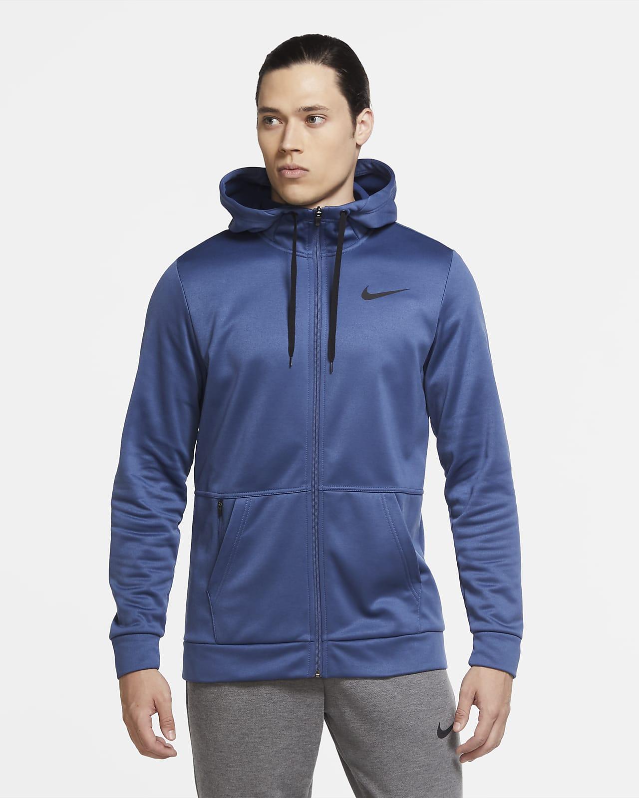 Nike Therma Sudadera de entrenamiento con capucha y cremallera completa - Hombre