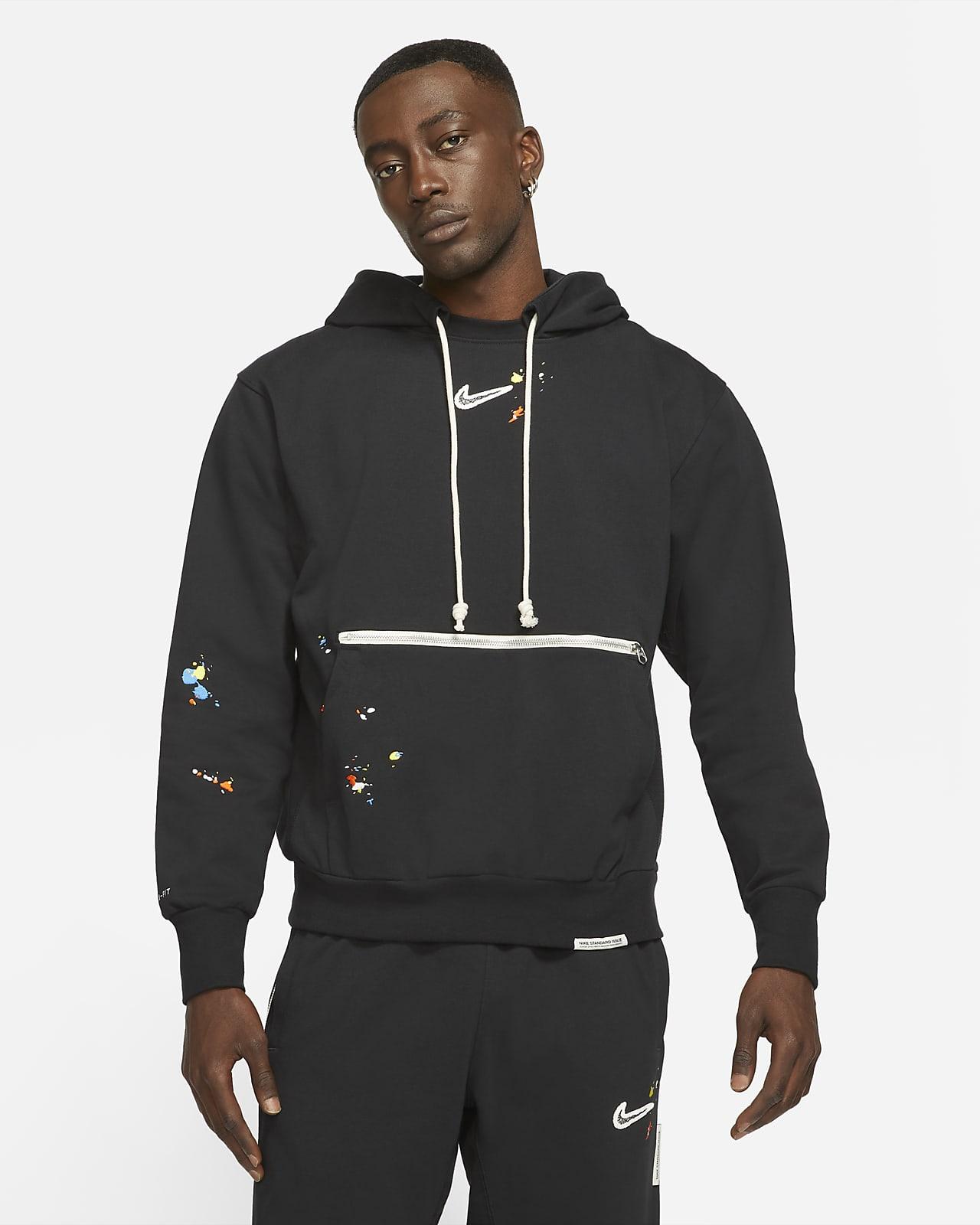 Nike Standard Issue Men's Pullover Basketball Hoodie