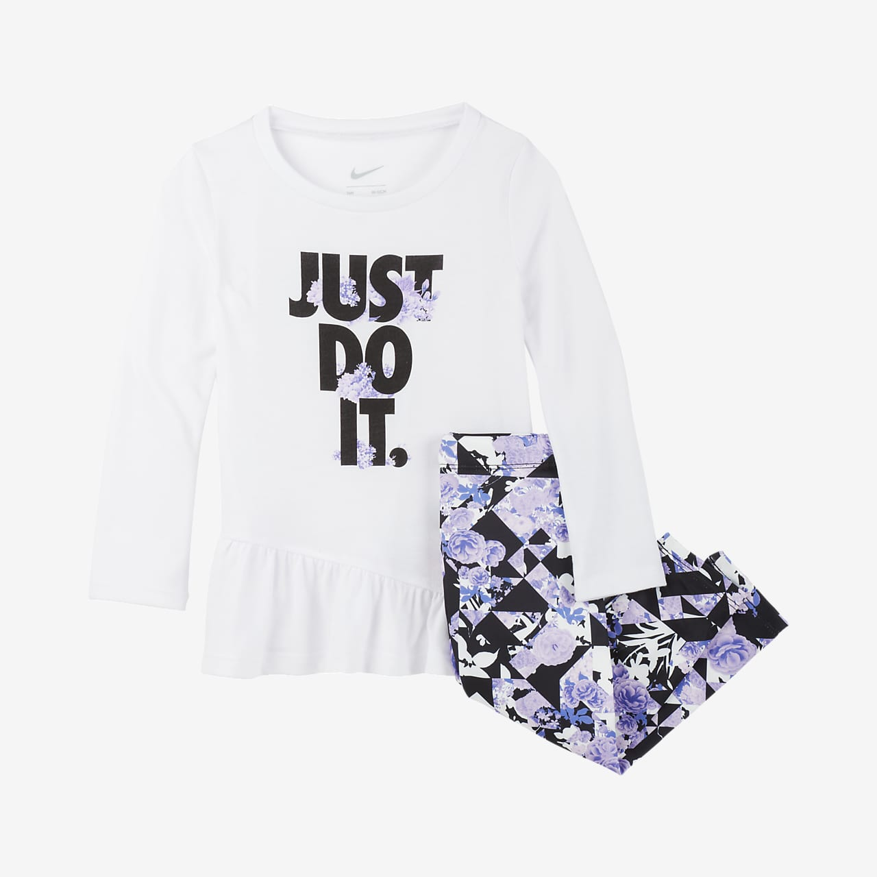 Nike Baby (12–24M) Top and Leggings Set