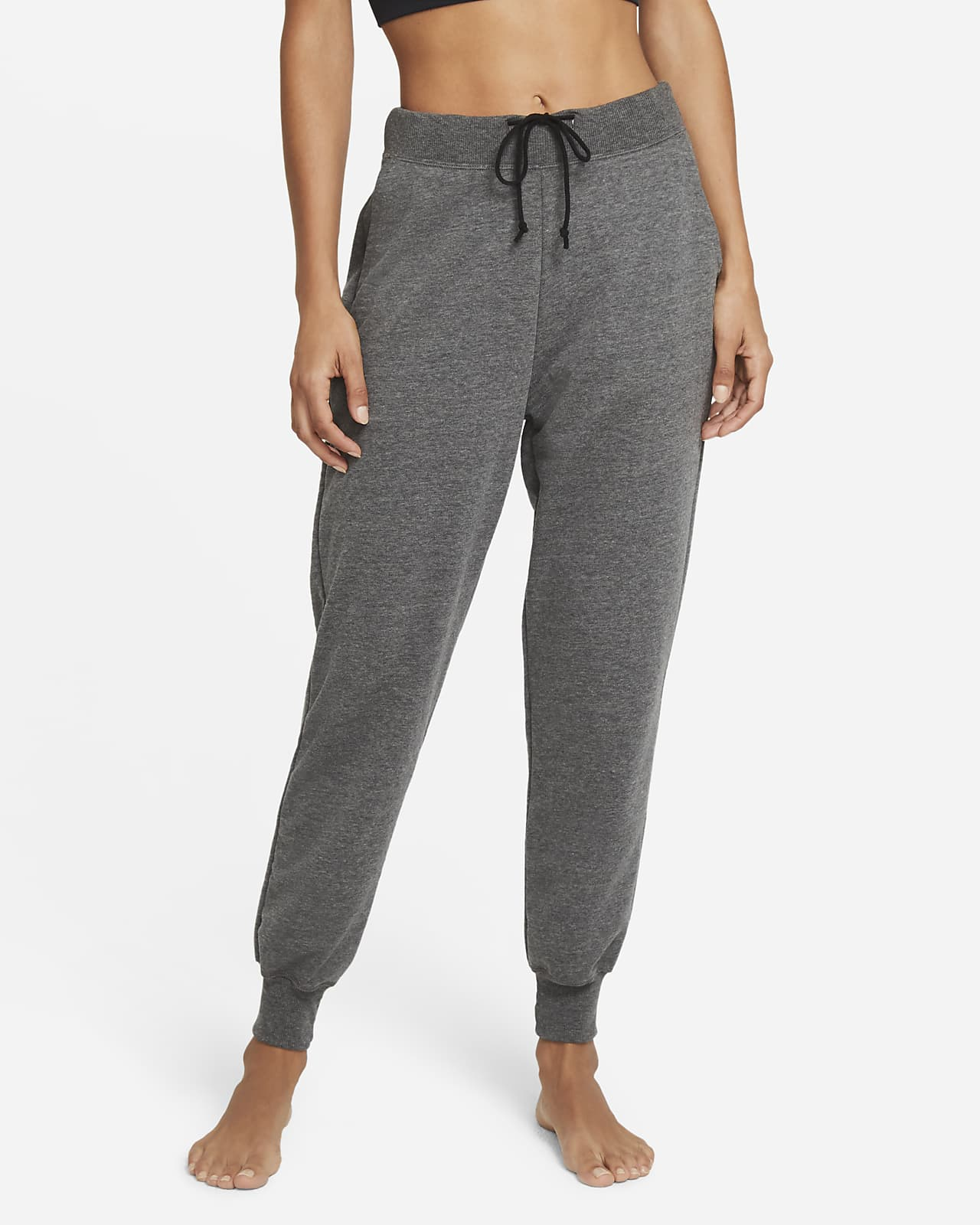 Nike Yoga Women's French Terry 7/8 Joggers