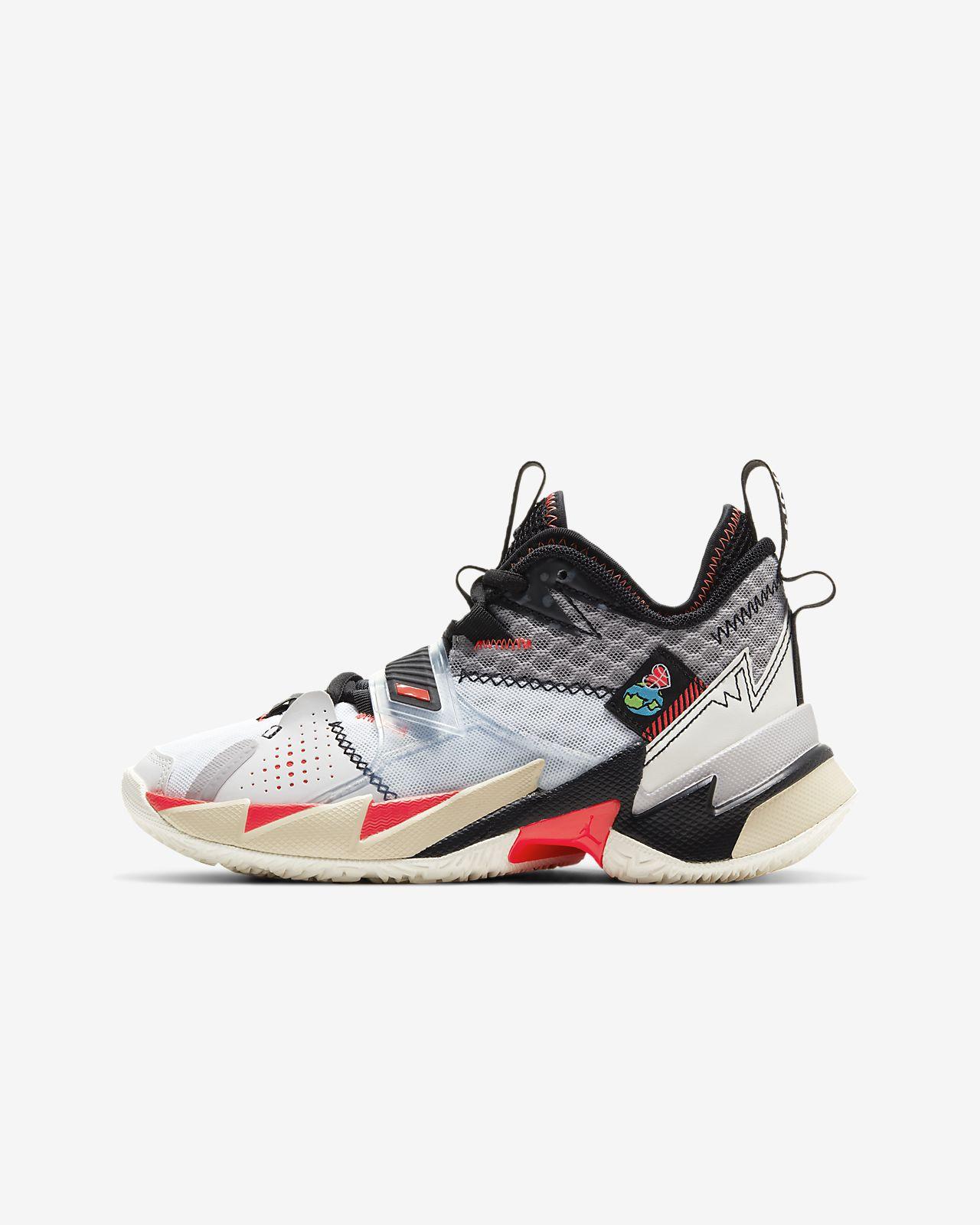 precio limitado venta caliente más nuevo diseño superior Jordan 'Why Not?' Zer0.3 Older Kids' Basketball Shoe. Nike LU
