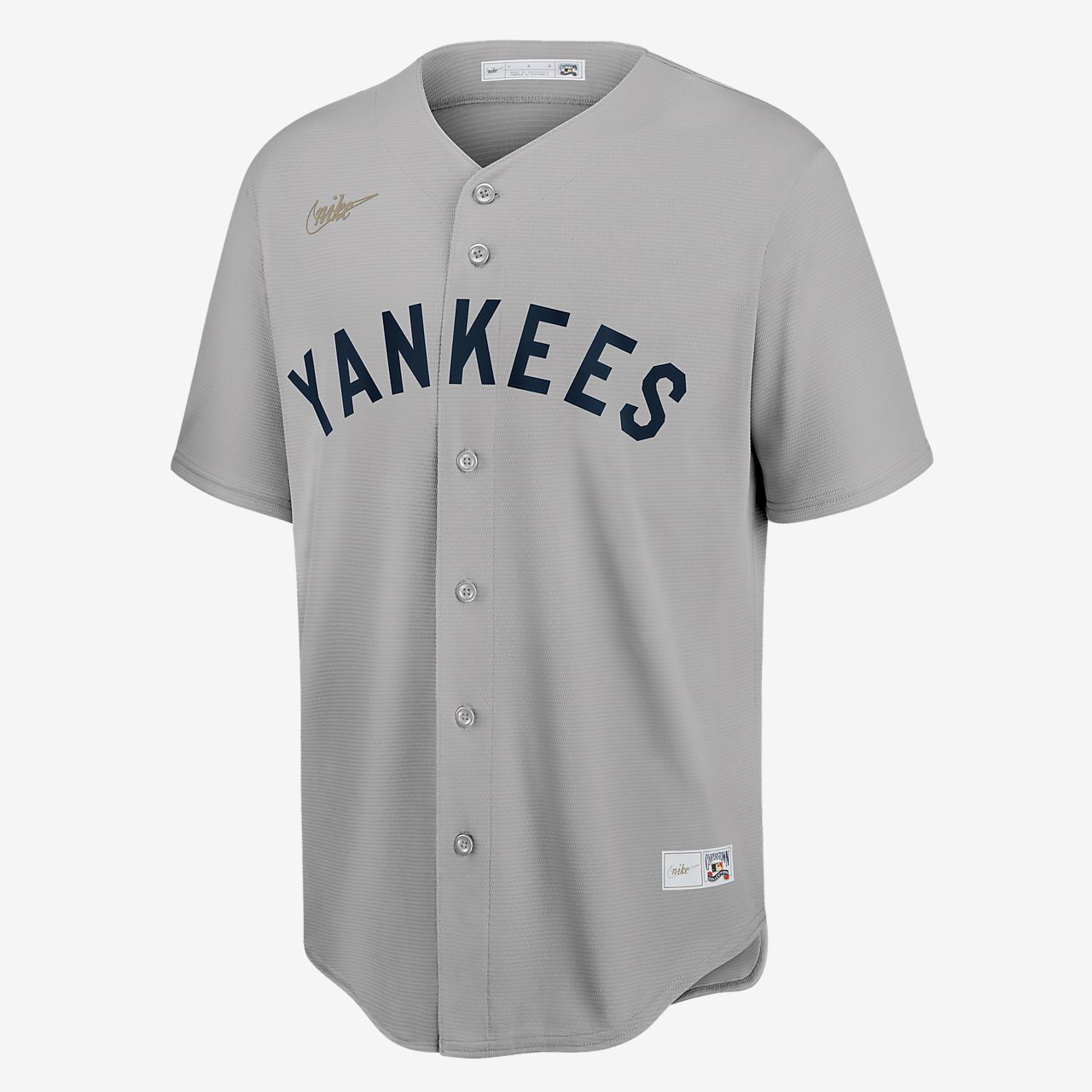 MLB New York Yankees (Mickey Mantle) Men's Cooperstown Baseball Jersey
