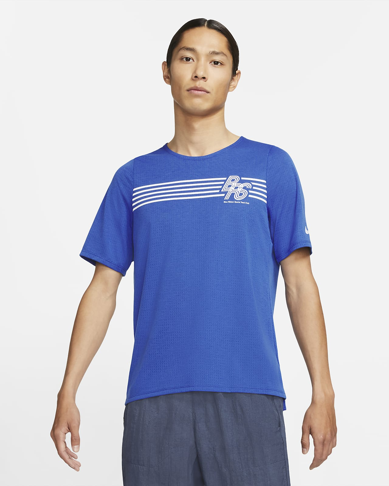 Nike Rise 365 BRS 男款短袖跑步上衣