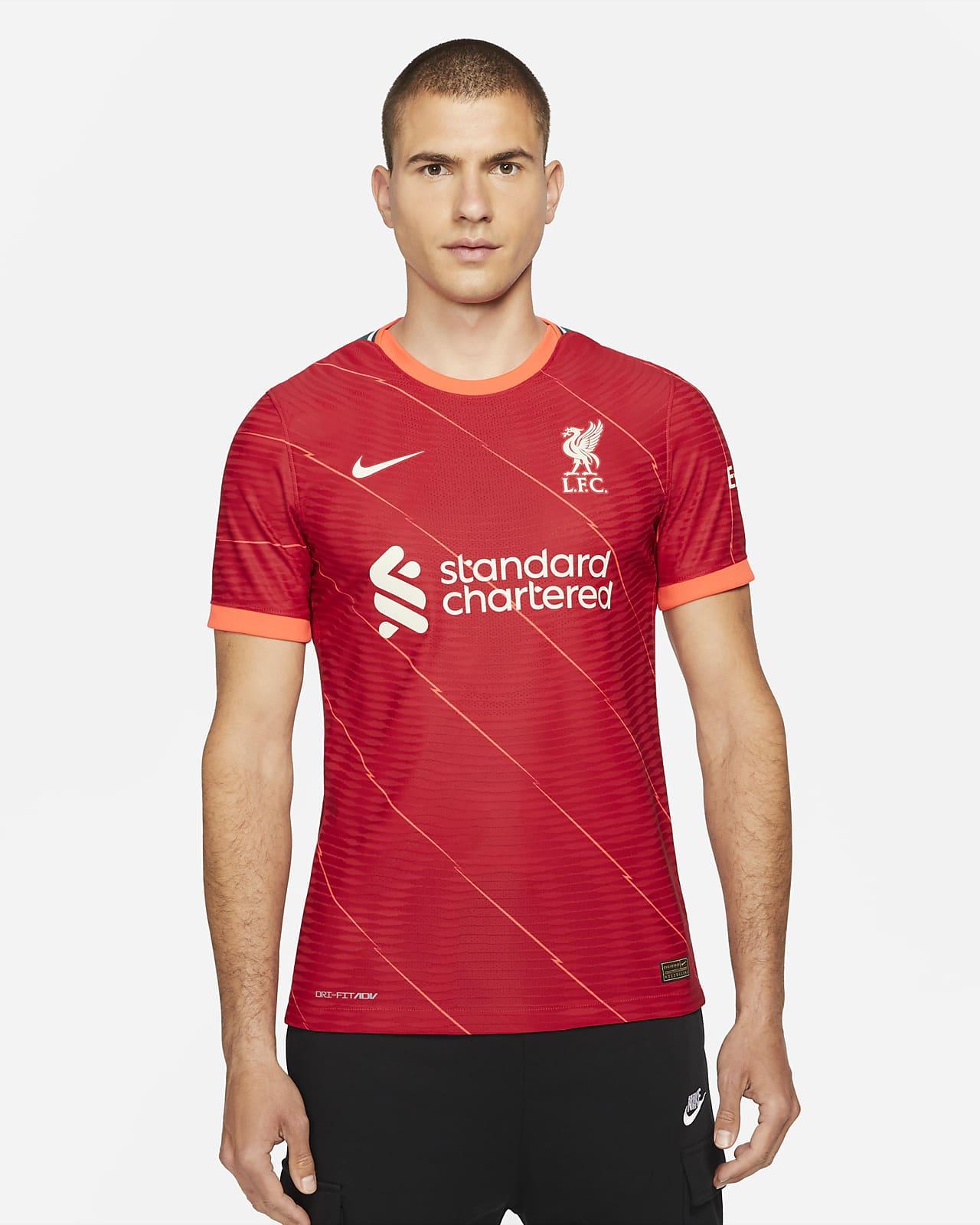 Camisola de futebol Nike Dri-FIT ADV do equipamento principal Match Liverpool FC 2021/22 para homem