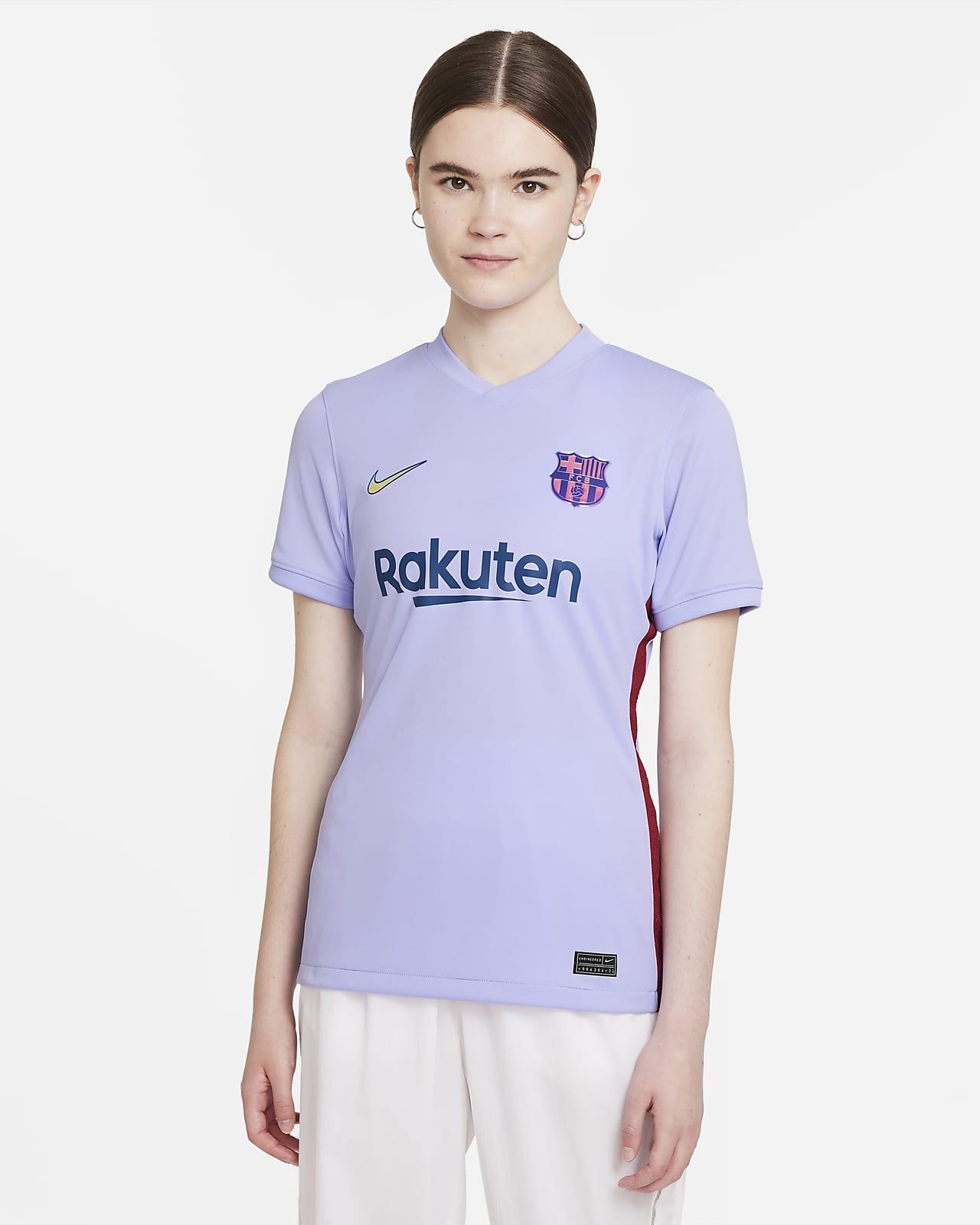 Camiseta de fútbol Nike Dri-FIT para mujer FC Barcelona visitante 2021/22 Stadium
