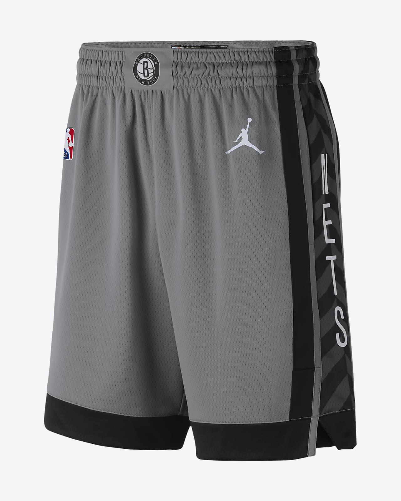 Spodenki męskie Jordan NBA Swingman Nets Statement Edition 2020