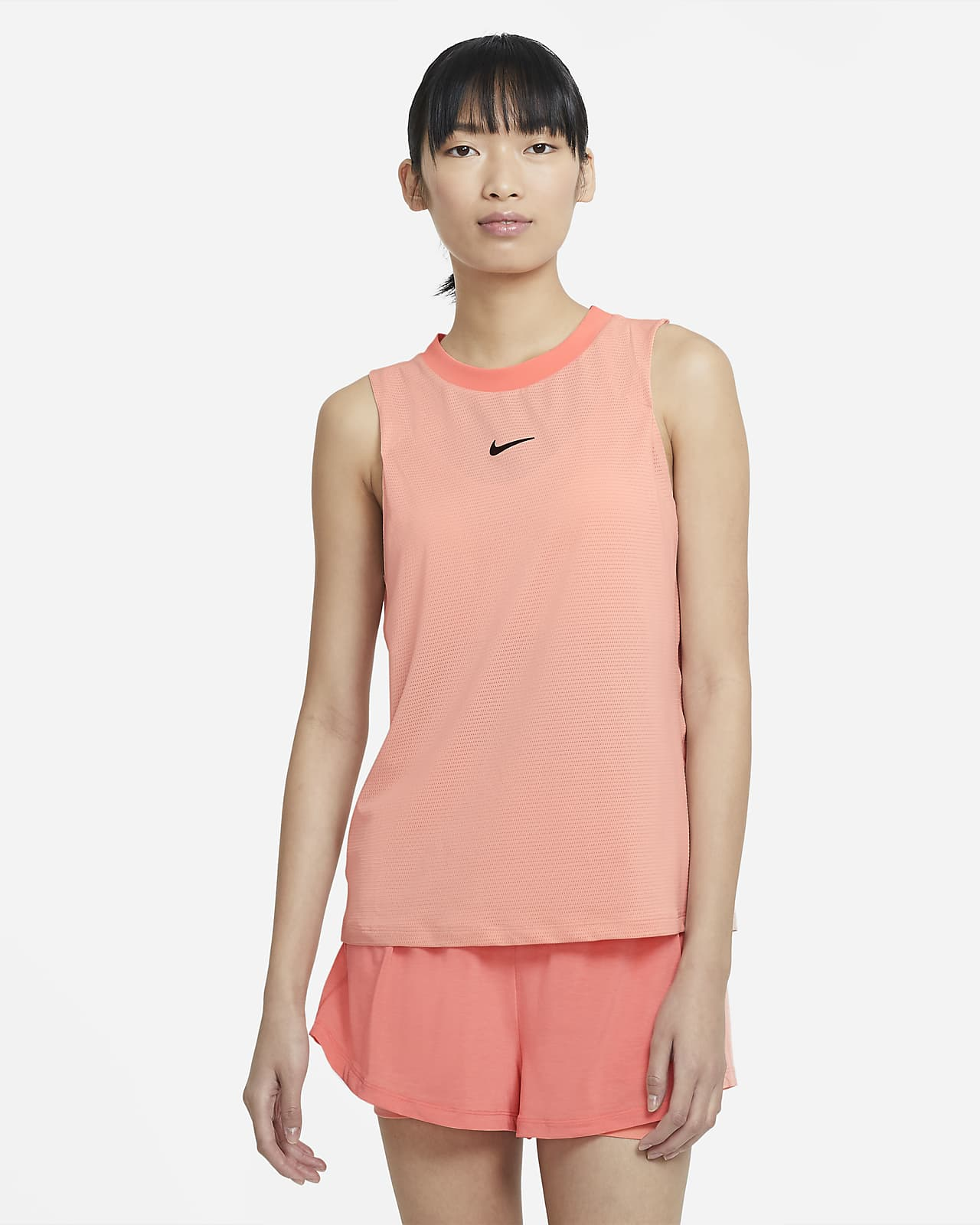 Canotta da tennis NikeCourt Advantage - Donna