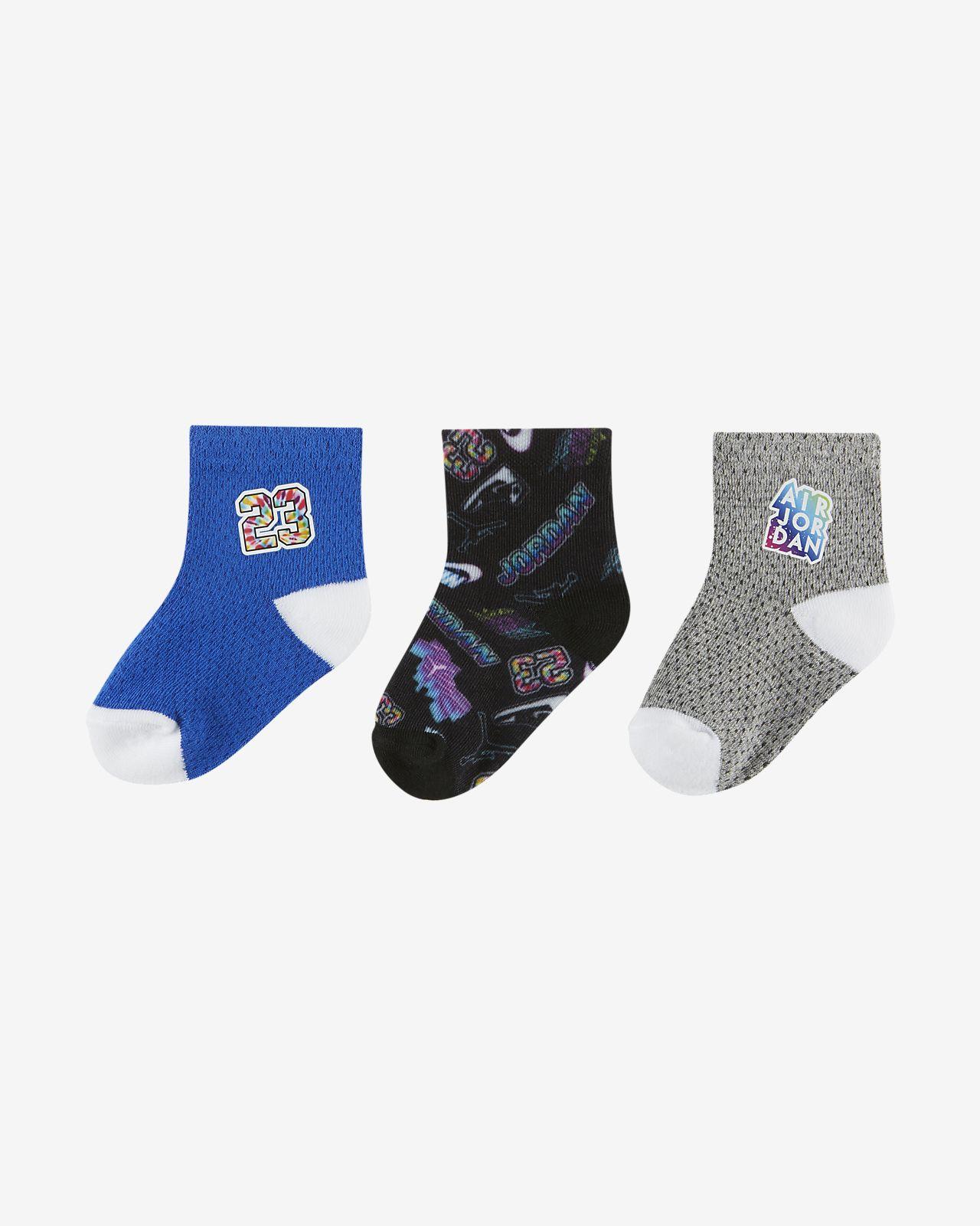 Jordan Ankle 婴童运动童袜(3 双)