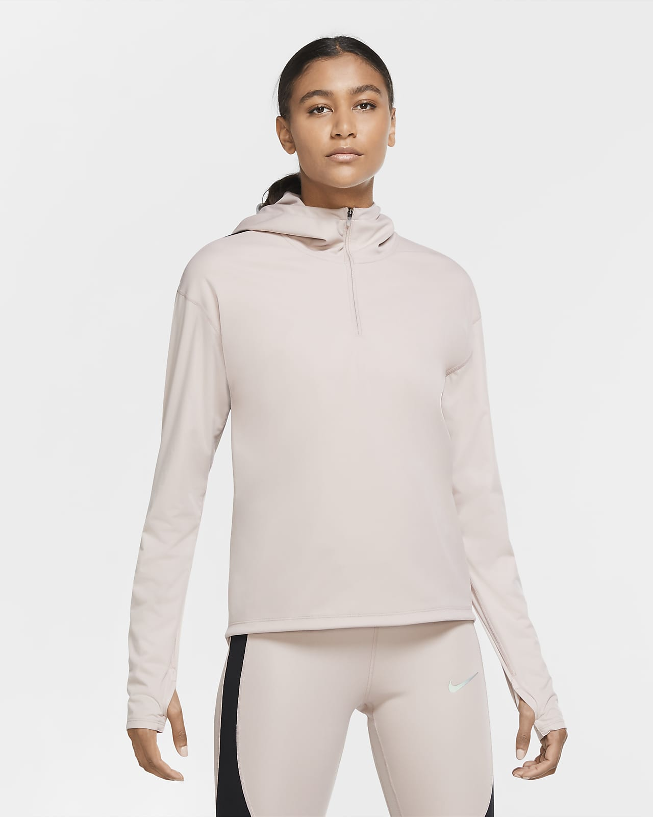 Camiseta de running para mujer Nike Shield Run Division