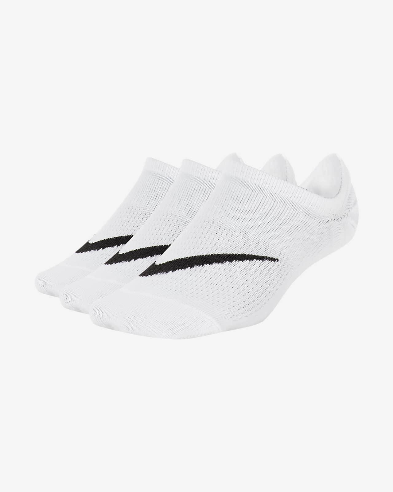 Nike Everyday Lichte footie sokken voor kids (3 paar)
