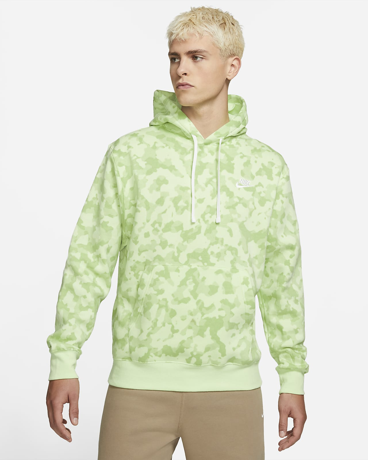 Huvtröja Nike Sportswear Club för män