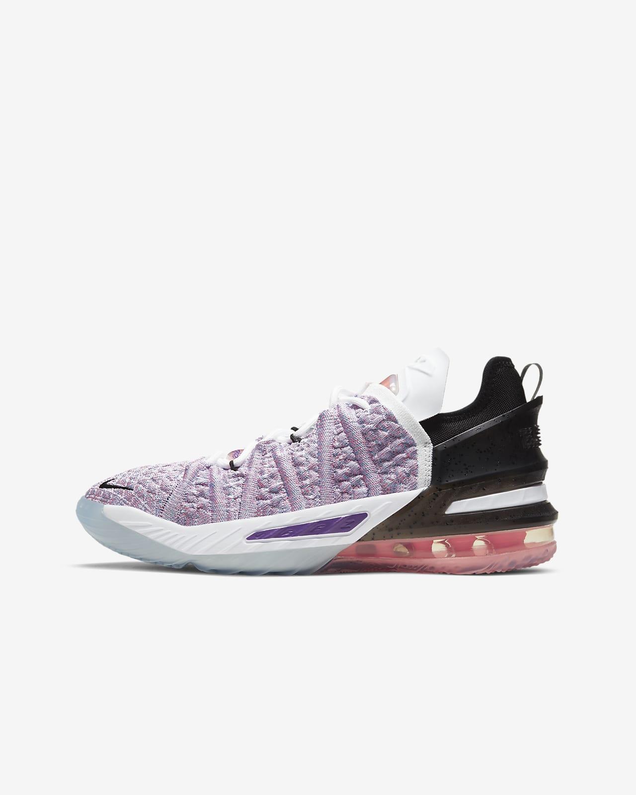 LeBron 18 大童籃球鞋
