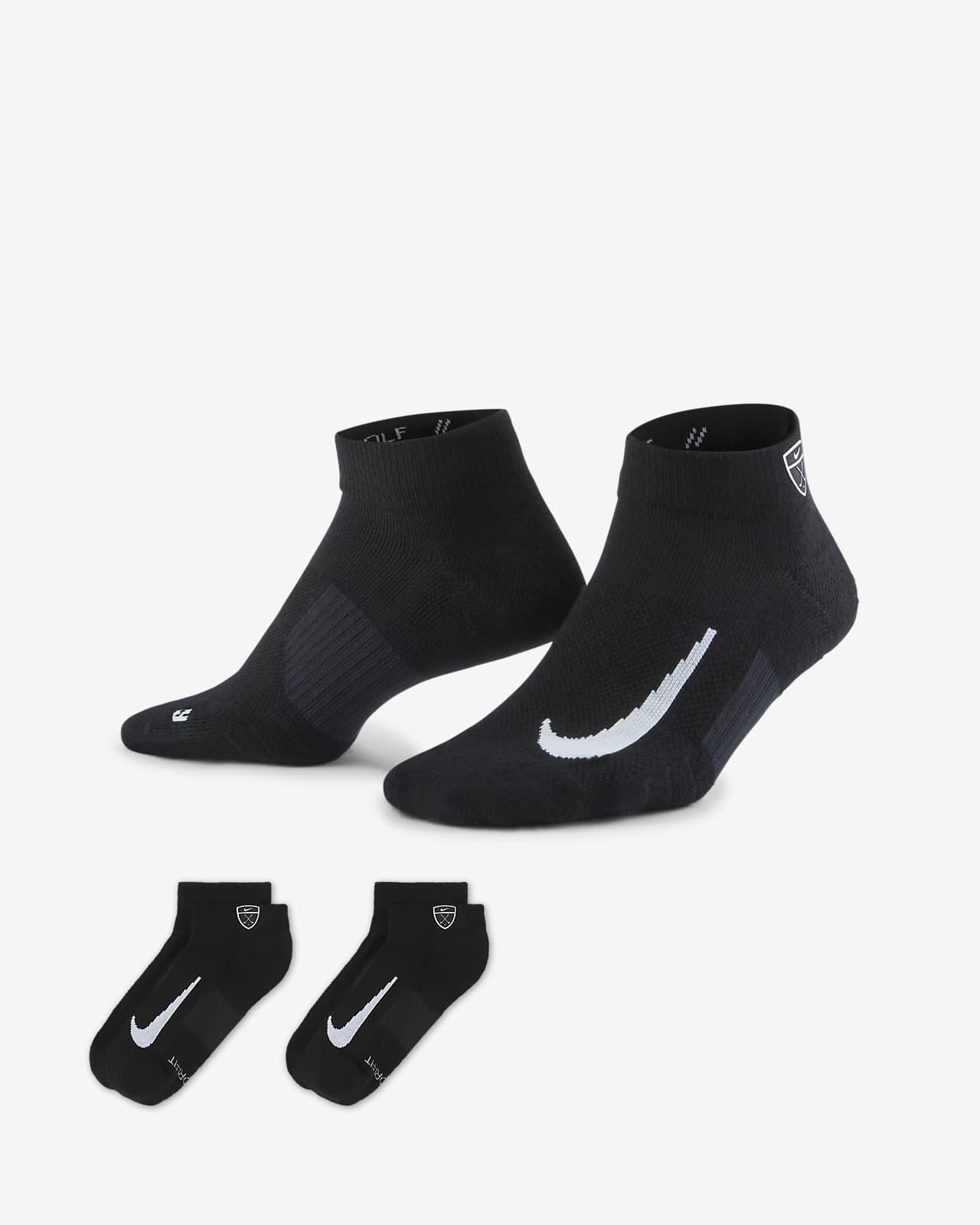 Calcetines cortos de golf Nike Multiplier Low (2 pares)