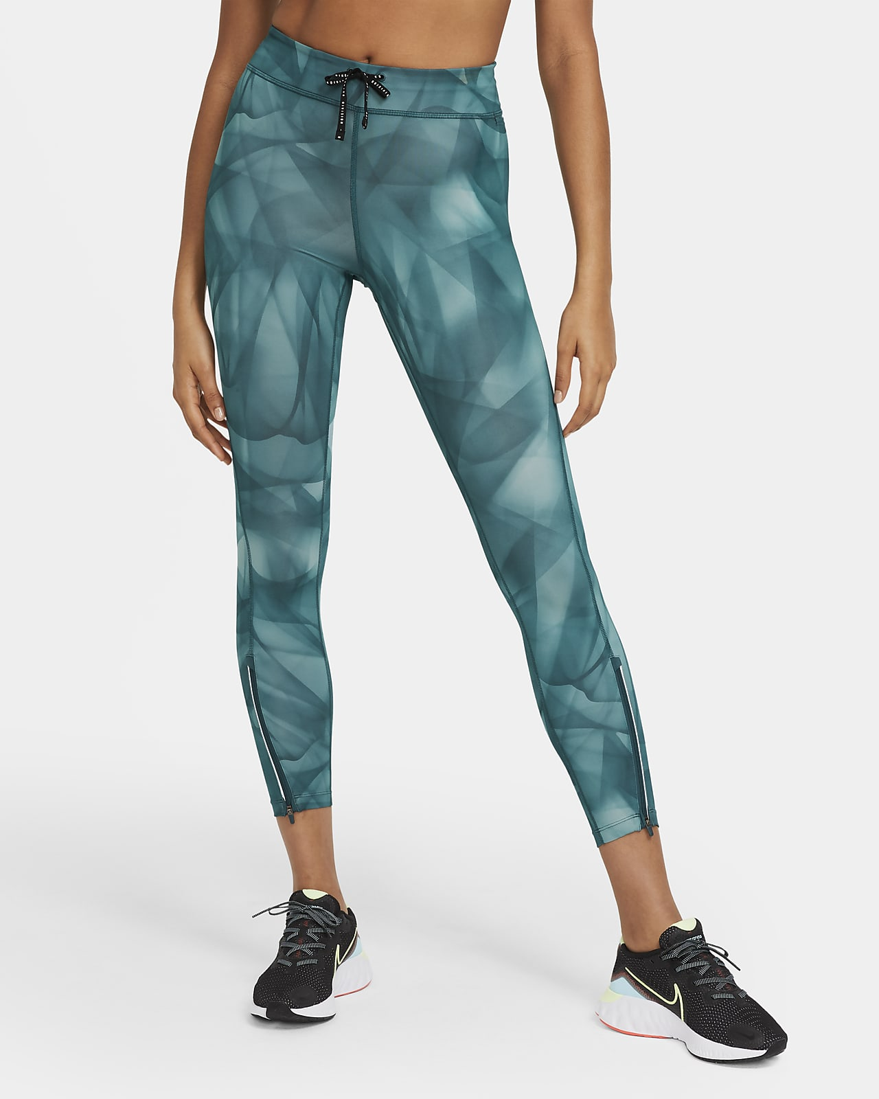 Tights da running a 7/8 Nike Epic Faster Run Division - Donna