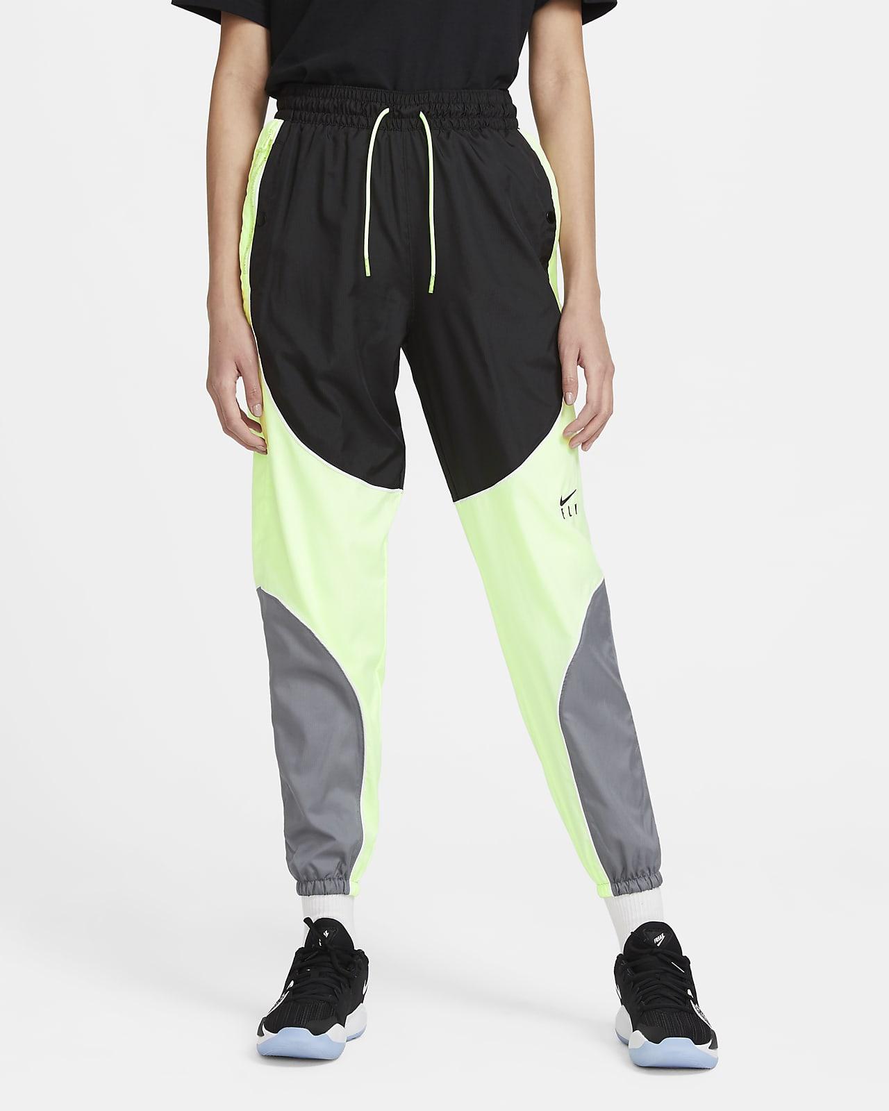 กางเกงบาสเก็ตบอลขายาวผู้หญิง Nike Swoosh Fly