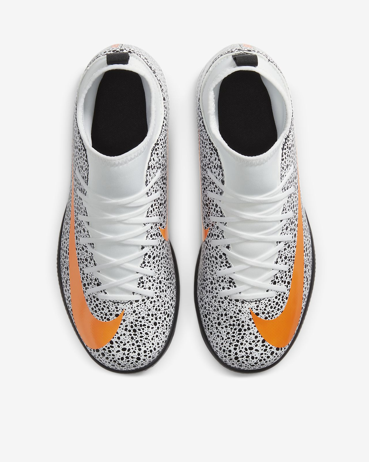 Nike Jr. Mercurial Superfly 7 Club CR7 Safari IC YoungerOlder Kids' Indoor Court Football Shoe