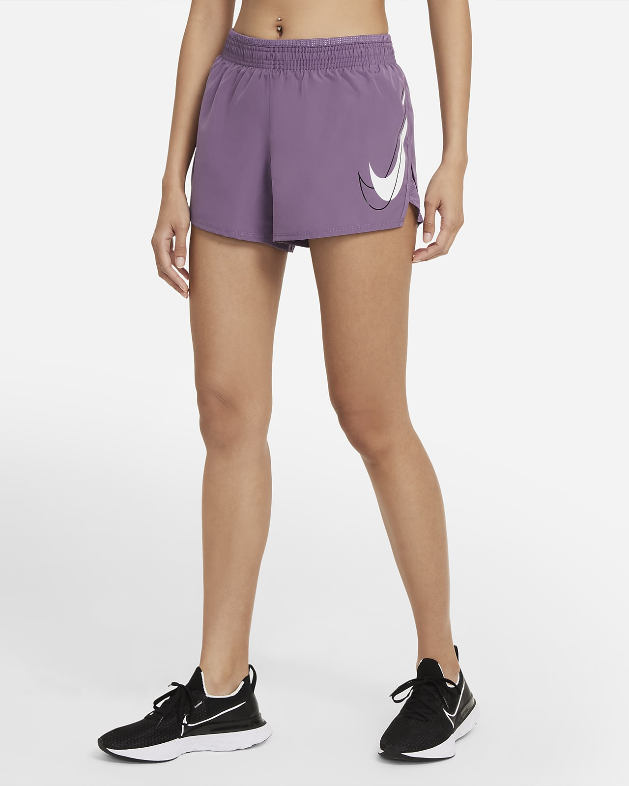 Shorts de running para mujer Nike Dri-FIT Swoosh Run