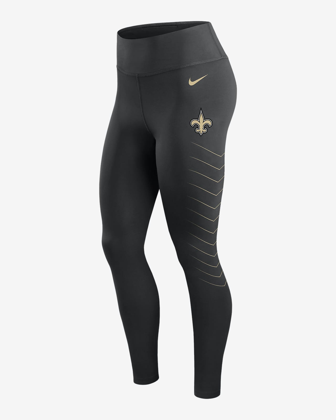 Leggings para mujer Nike Dri-FIT (NFL New Orleans Saints)