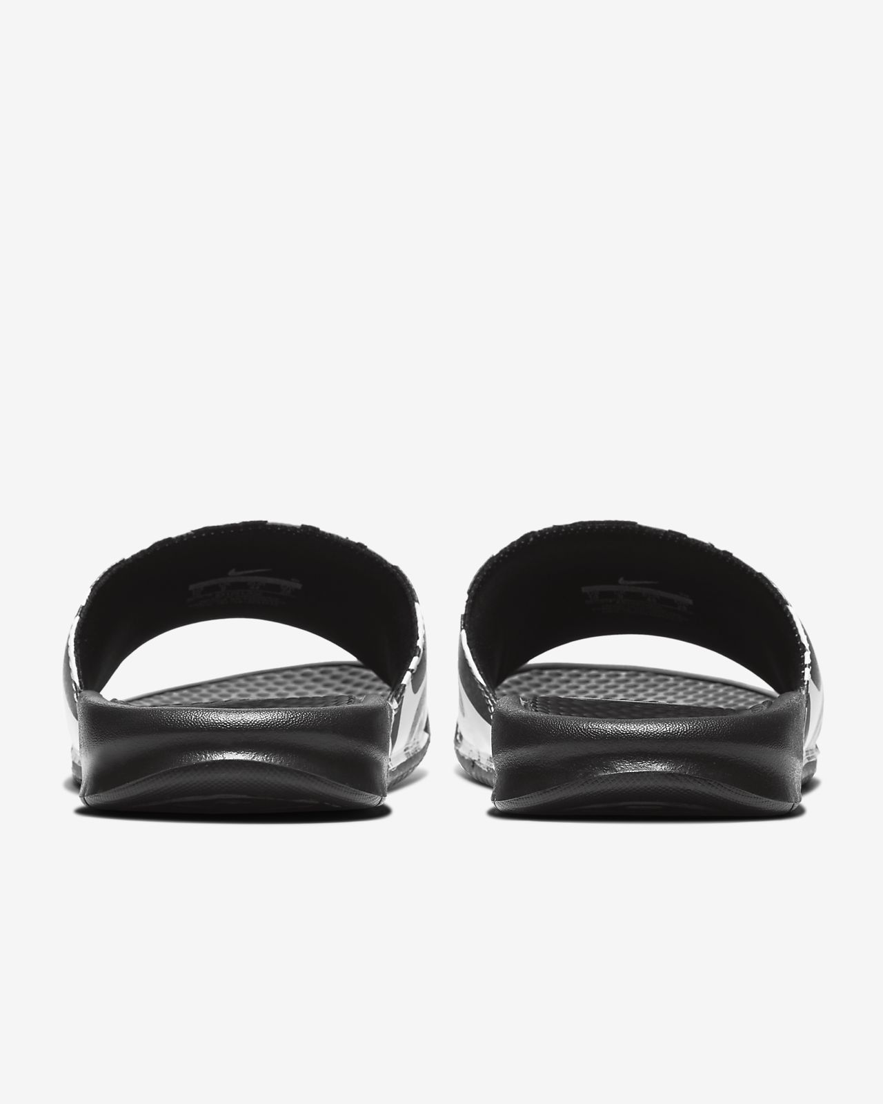 Sandália Nike Benassi JDI Masculina Preto e Dourado