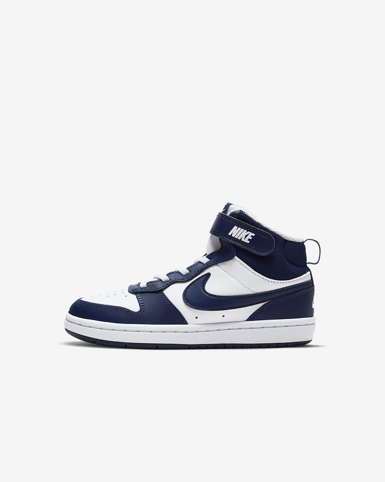 Nike Court Borough Mid 2 Little Kids' Shoe