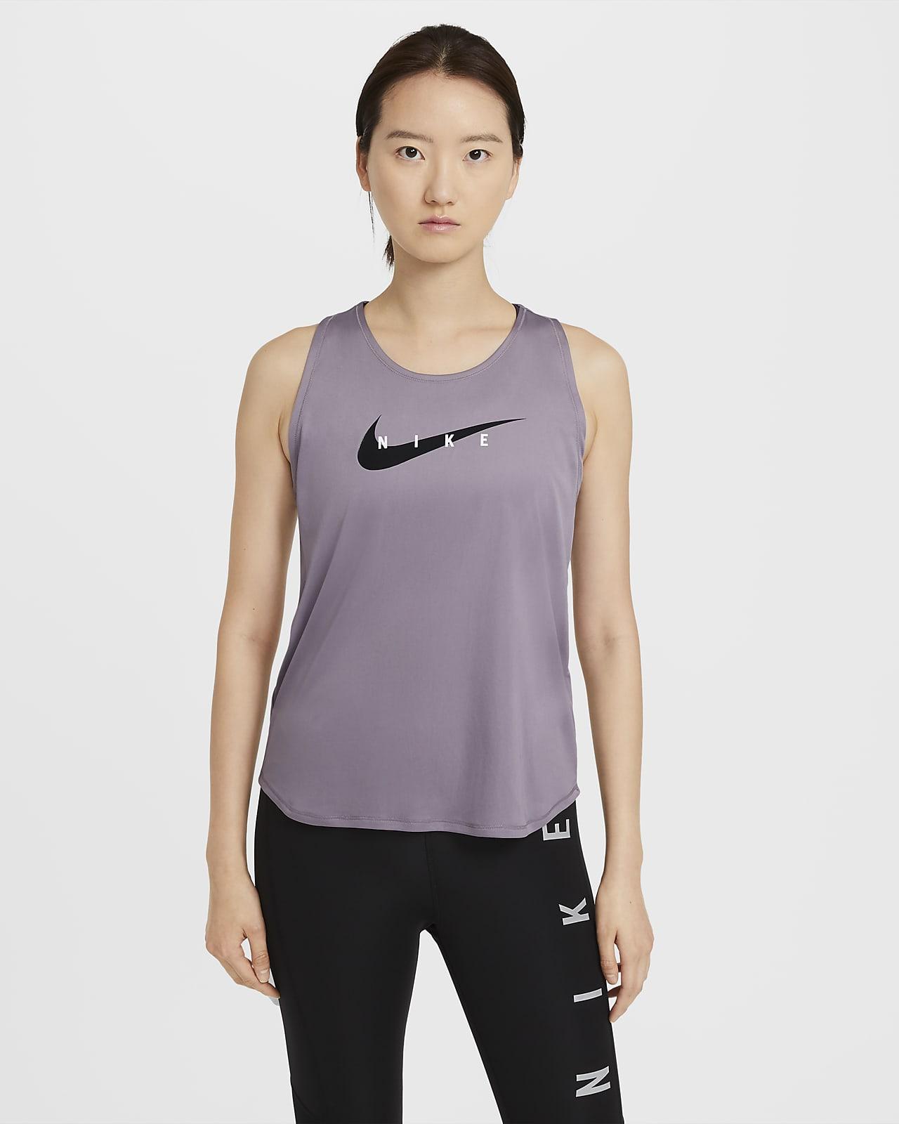 Nike Swoosh Run løpesinglet til dame