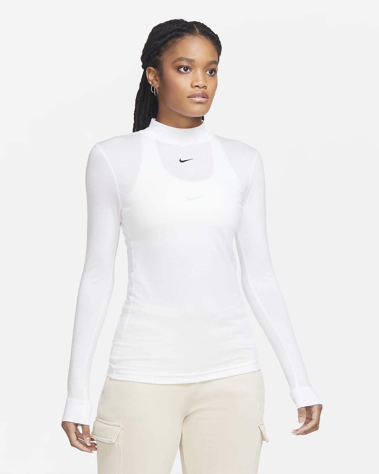 Nike Sportswear Part superior de màniga llarga amb coll alt - Dona
