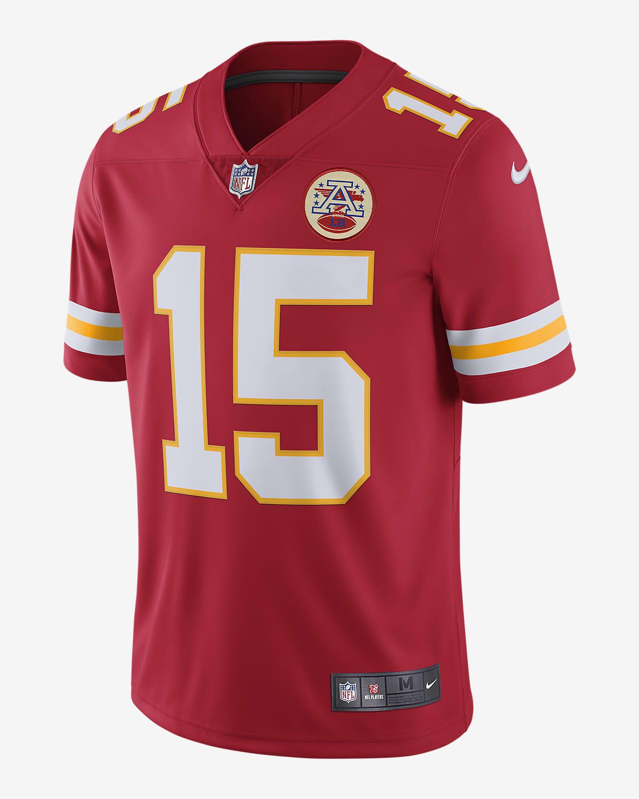 NFL Kansas City Chiefs Vapor Untouchable (Patrick Mahomes) Men's Limited Football Jersey