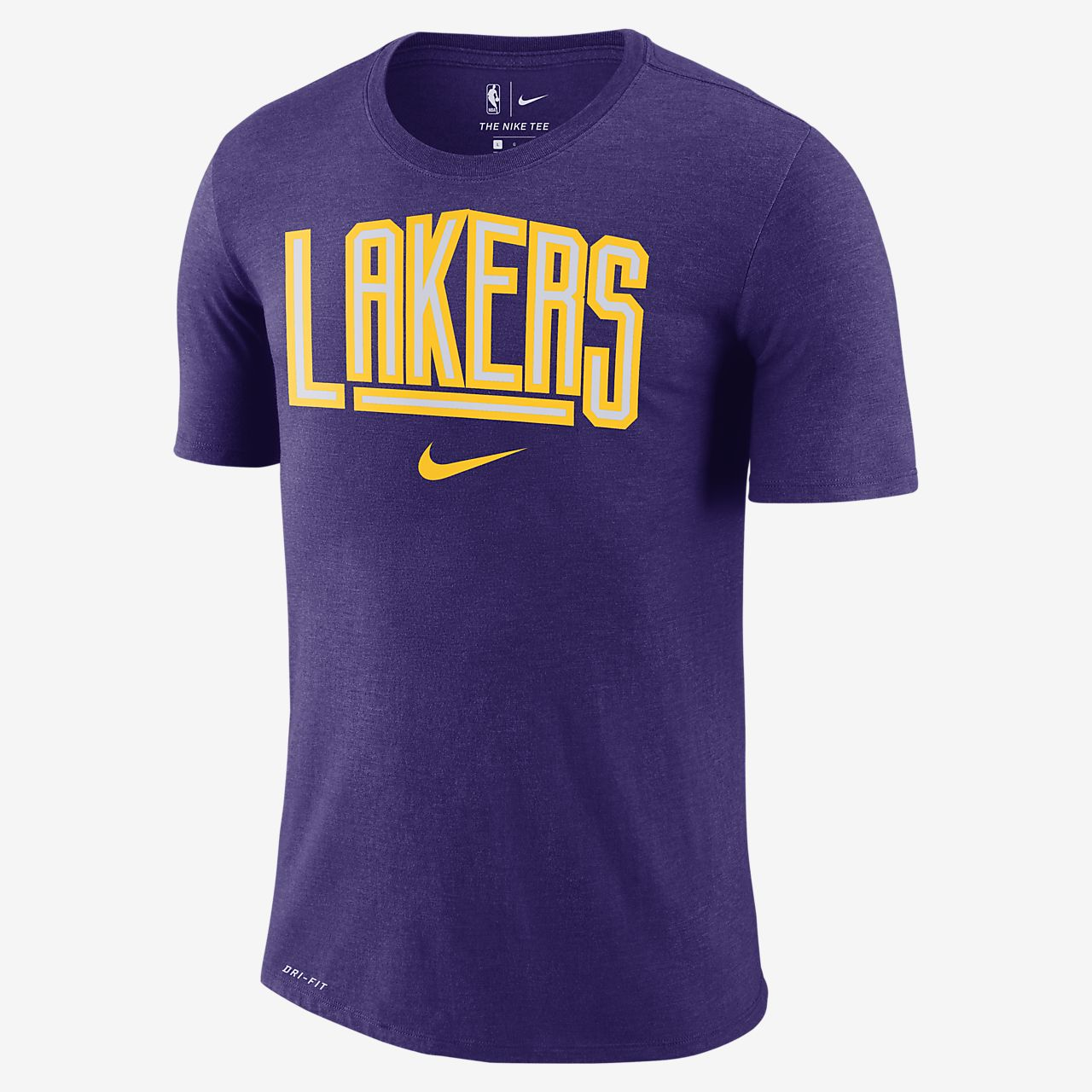 lakers t shirt nike