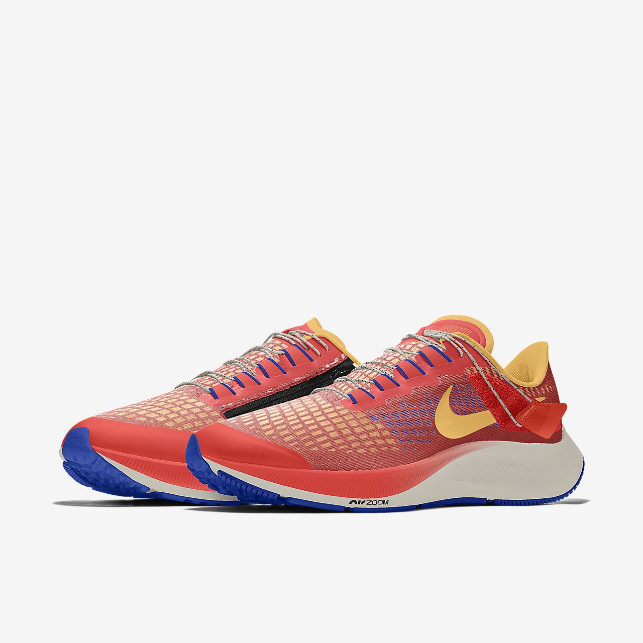 Nike Air Zoom Pegasus 37 Flyease By You Custom Women's Running Shoe