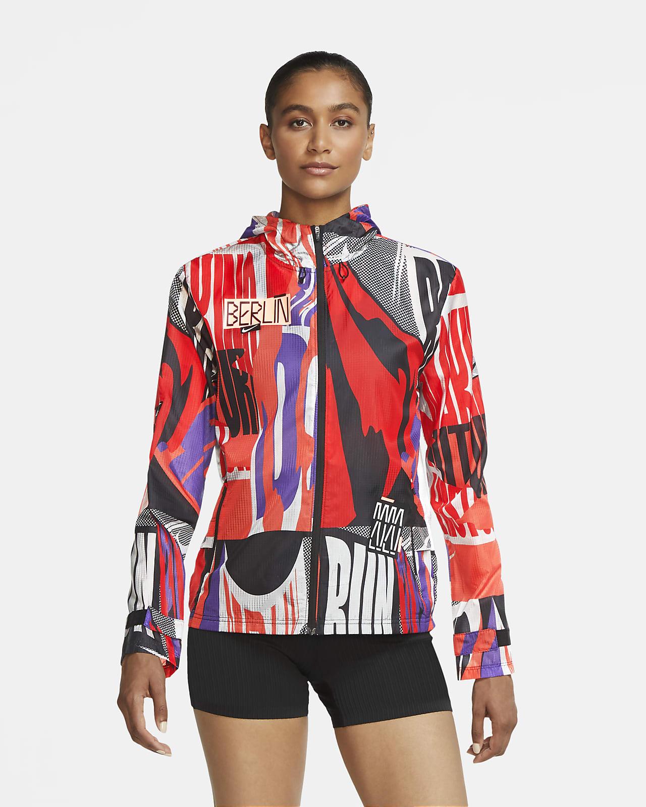 Giacca da running Nike Essential Berlin - Donna