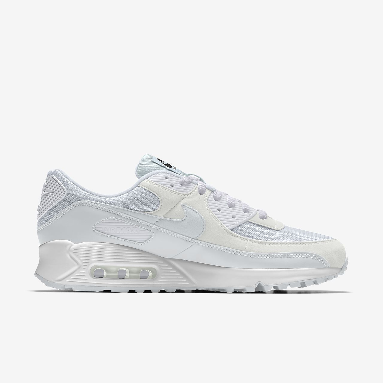 Nike Air Max 90 Triple White resolution