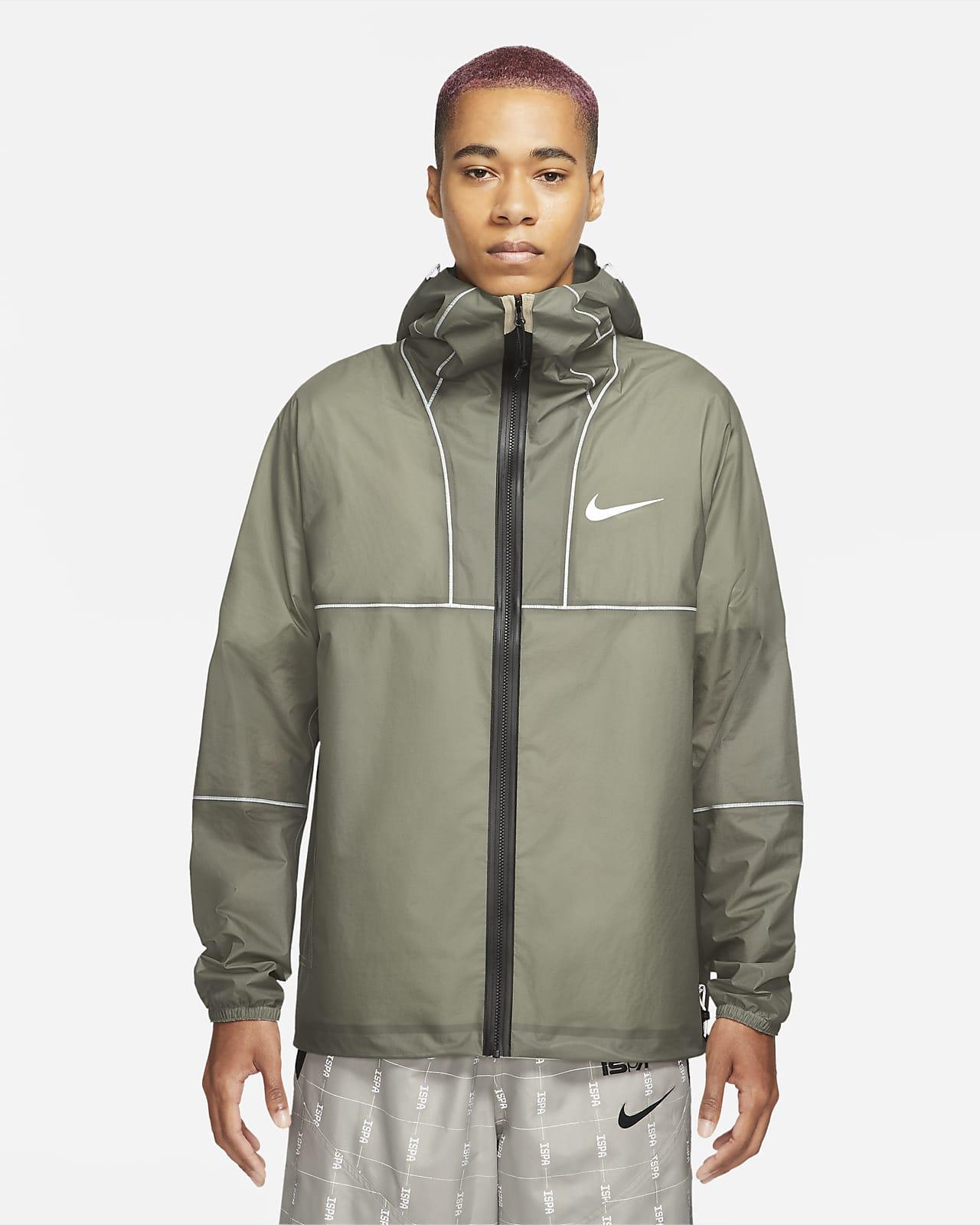 เสื้อแจ็คเก็ตพับเก็บได้น้ำหนักเบาผู้ชาย Nike iSPA