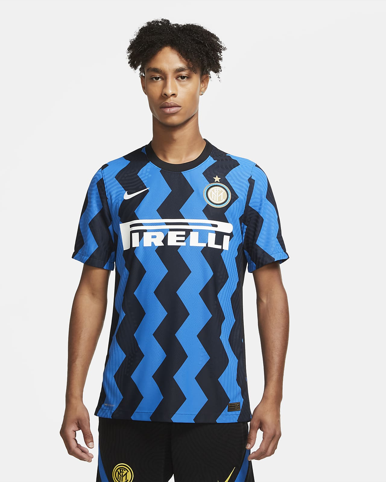 Inter Milan 2020/21 Vapor Match Home Men's Football Shirt